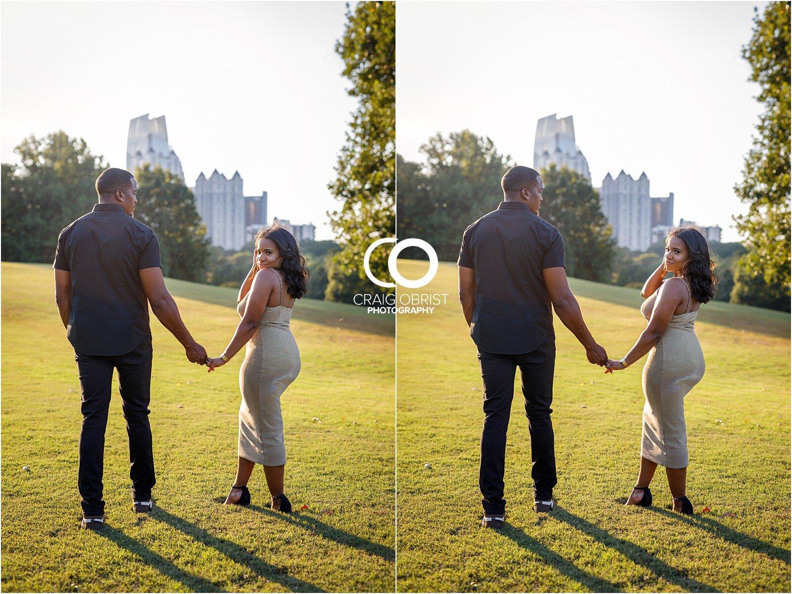 Piedmont Park Merecedes Benz Stadium Atlanta Skyline Enagagement Portraits_0013.jpg