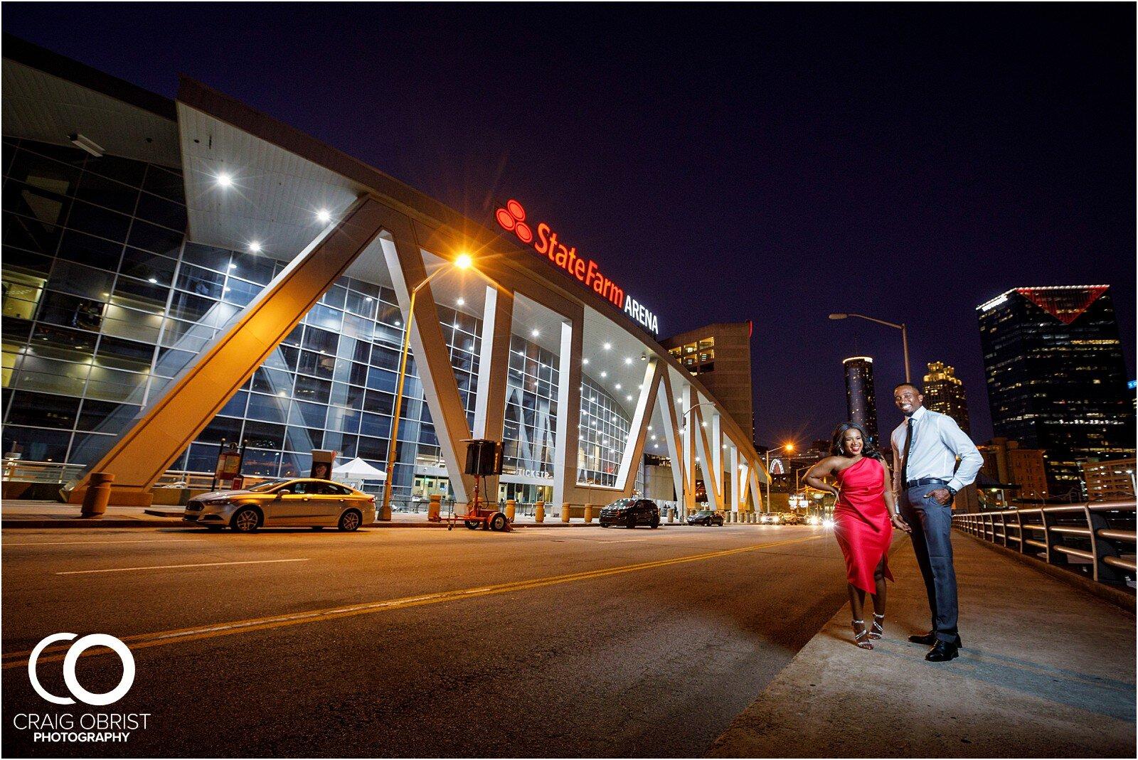 Piedmont Park Merecedes Benz Stadium Atlanta Skyline Enagagement Portraits_0032.jpg