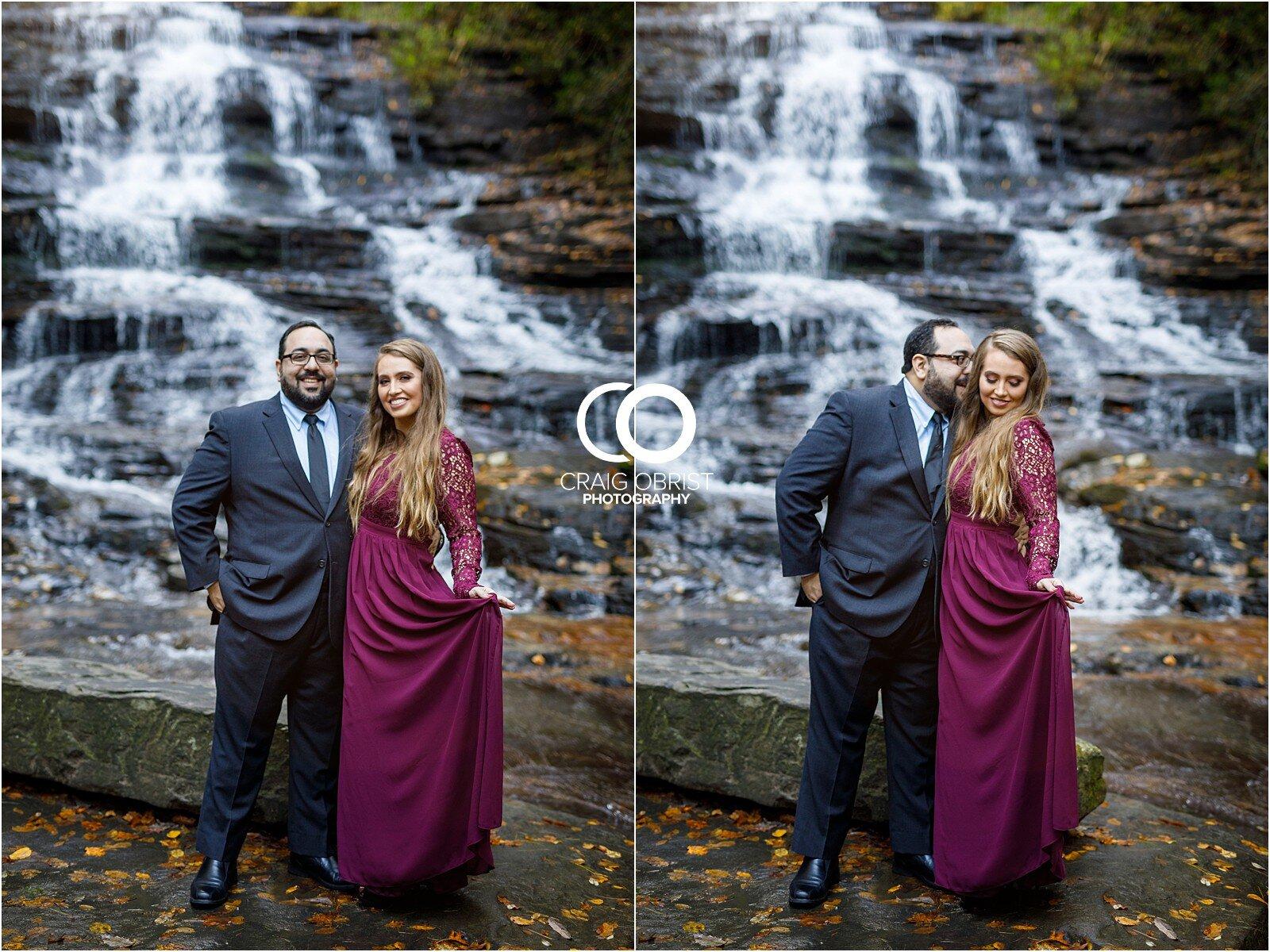 Waterfall North Georgia Engagement Portraits Wedding_0015.jpg