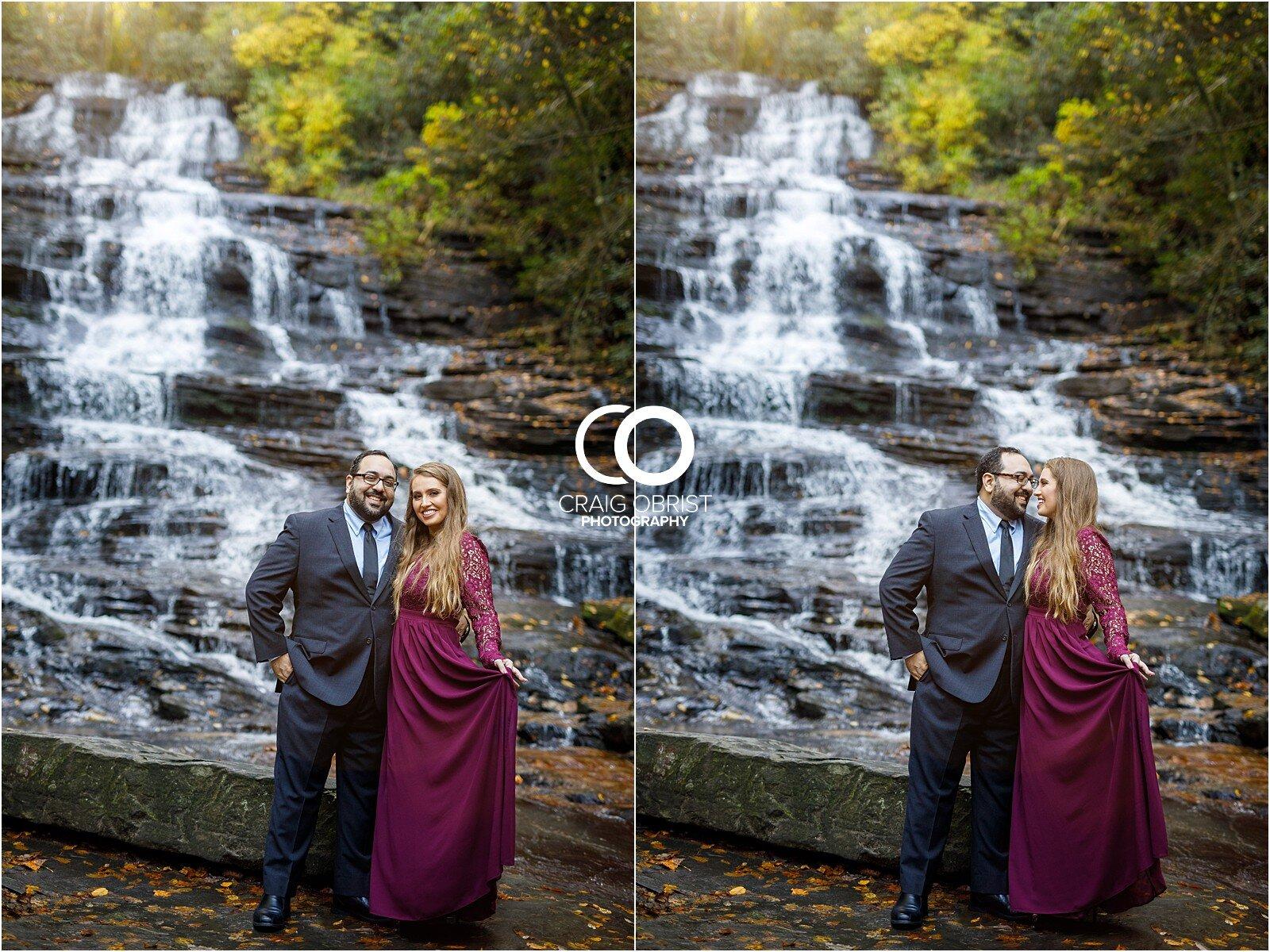 Waterfall North Georgia Engagement Portraits Wedding_0017.jpg