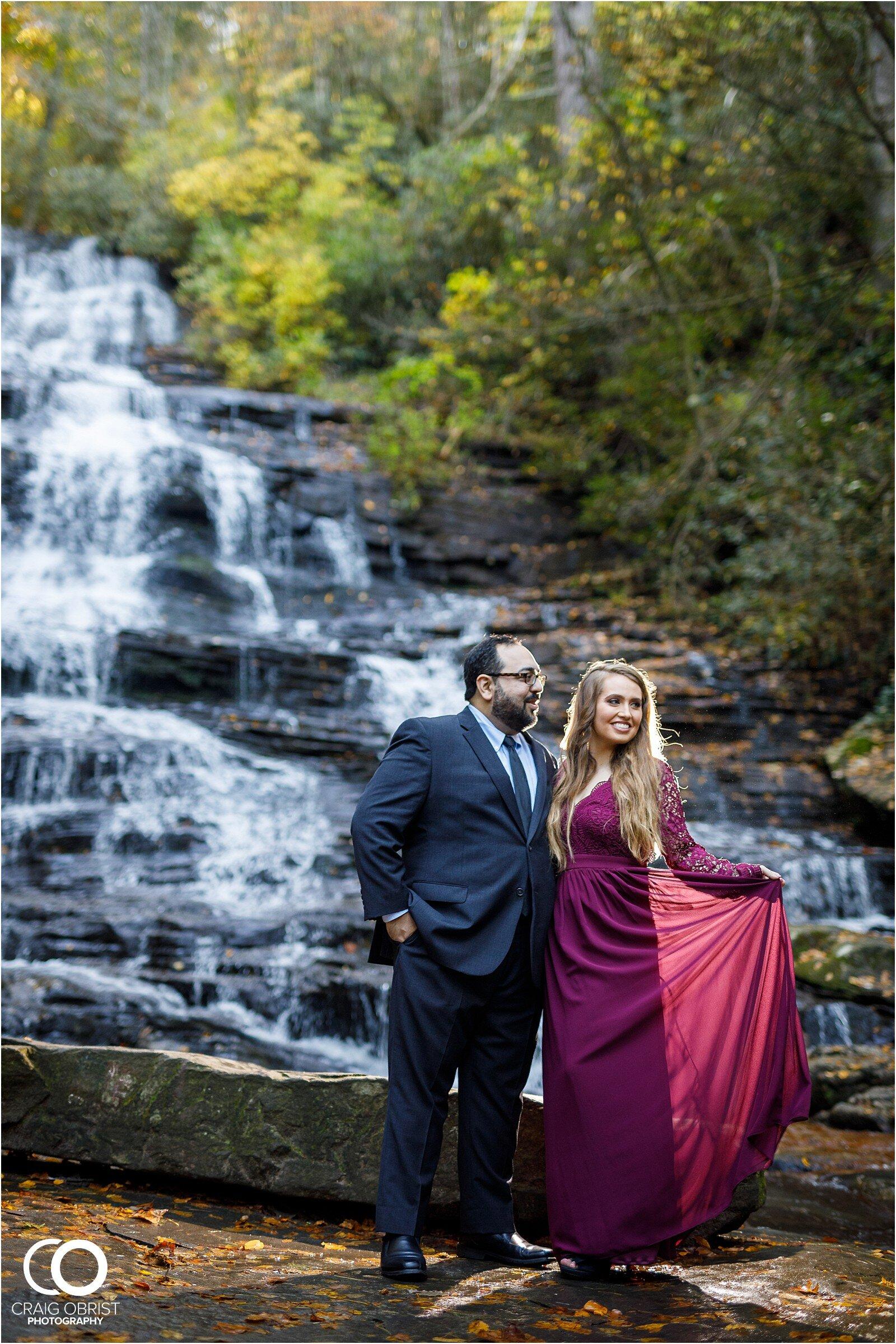 Waterfall North Georgia Engagement Portraits Wedding_0018.jpg