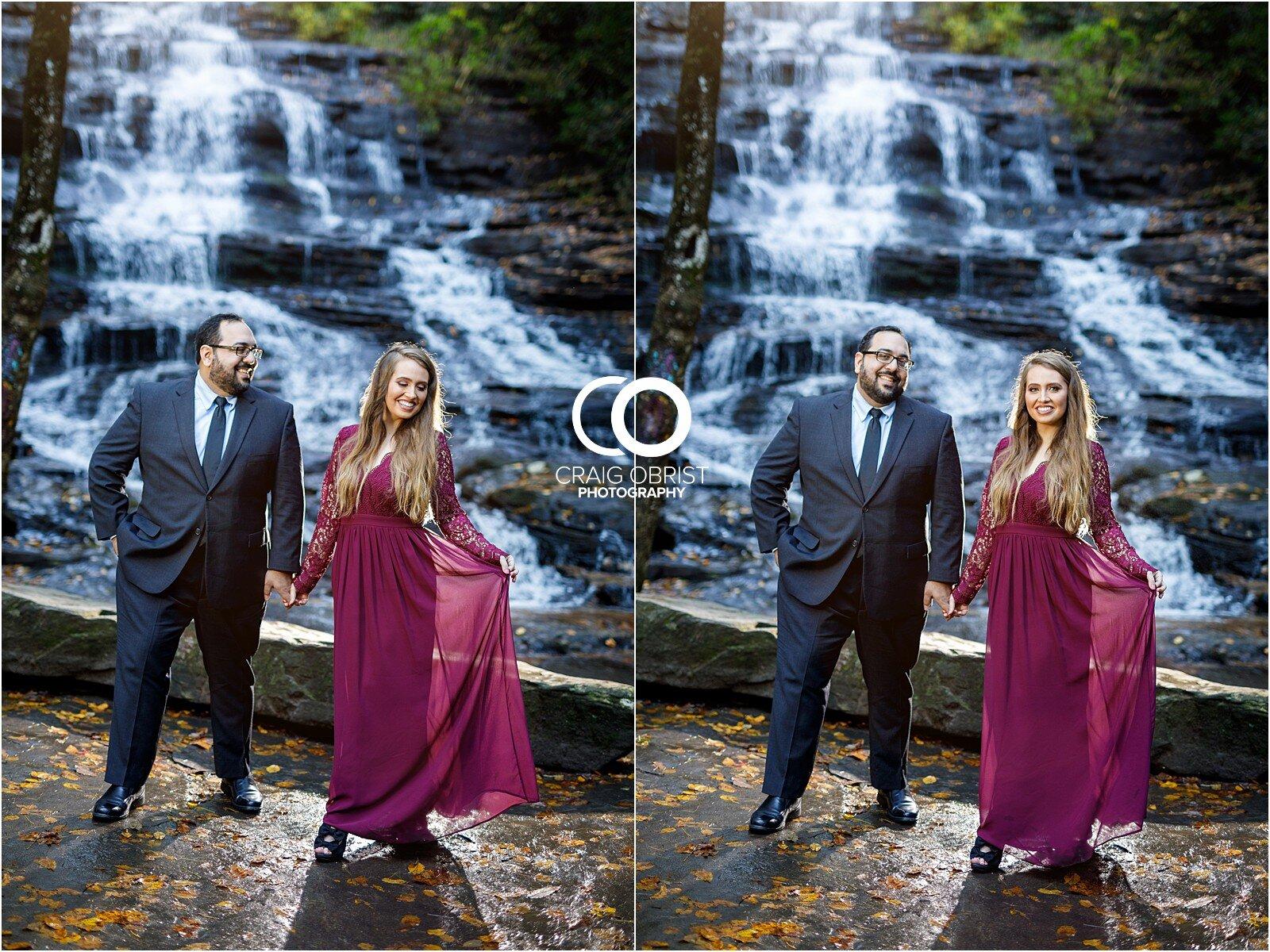 Waterfall North Georgia Engagement Portraits Wedding_0021.jpg