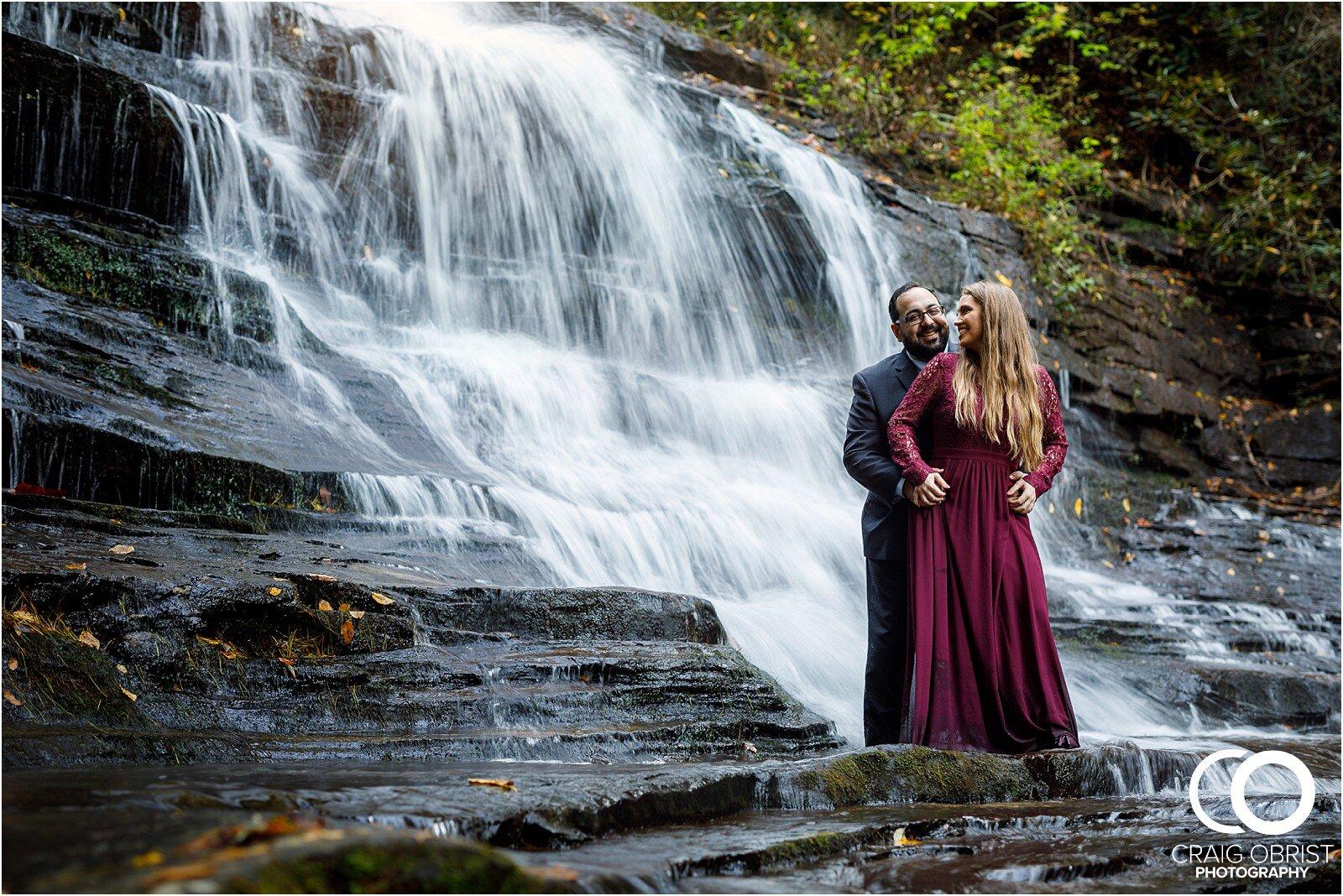 Waterfall North Georgia Engagement Portraits Wedding_0030.jpg