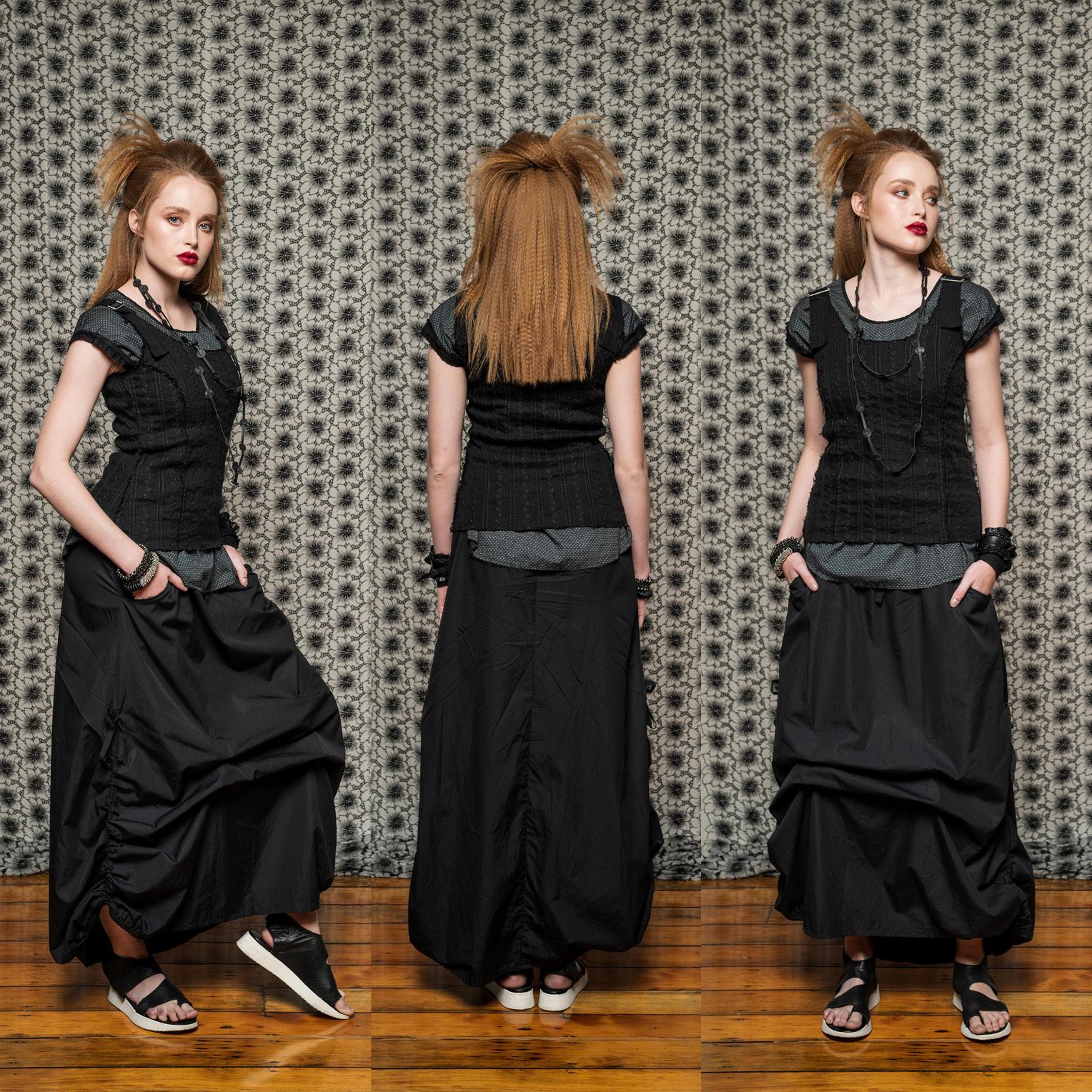 Sylvan Top, Moonlight Top & Marmalade Skirt