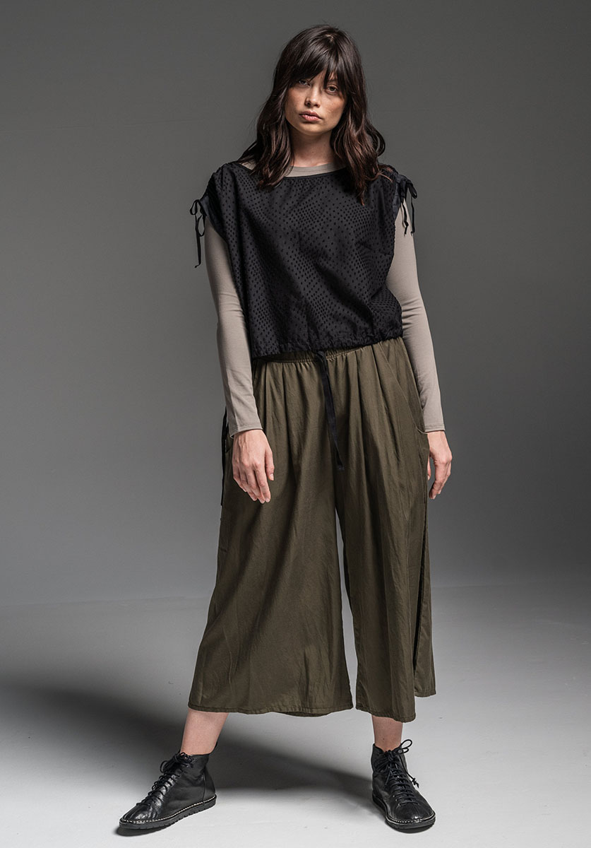 Multitude top, Chamomile top + Grove pant