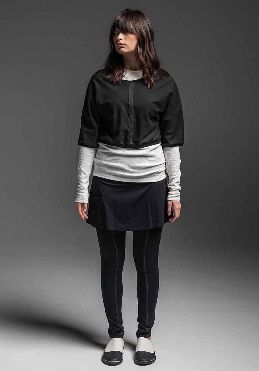 Antidote top, Druid top + Sweetgum pant/skirt