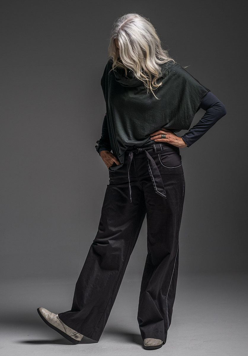 Multitude top, Spinner top + Samira pant