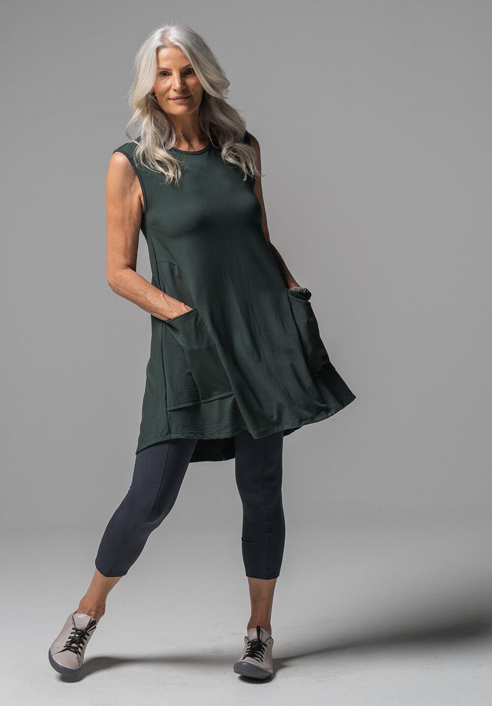Nancy dress + Lanky 7/8 legging
