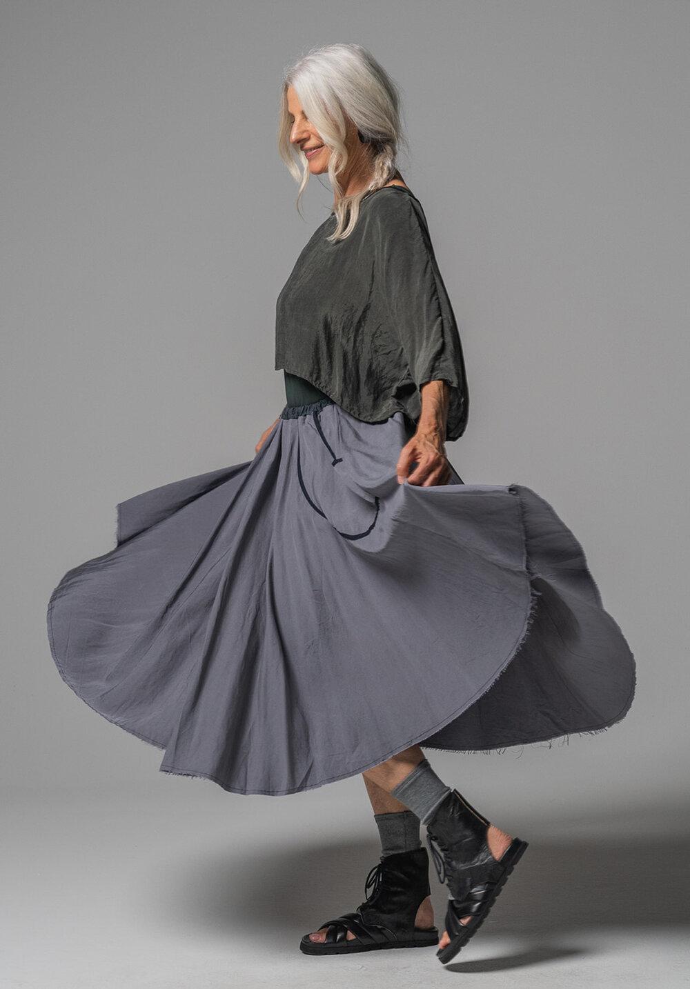 Archive top, Greta singlet + Fade midi skirt