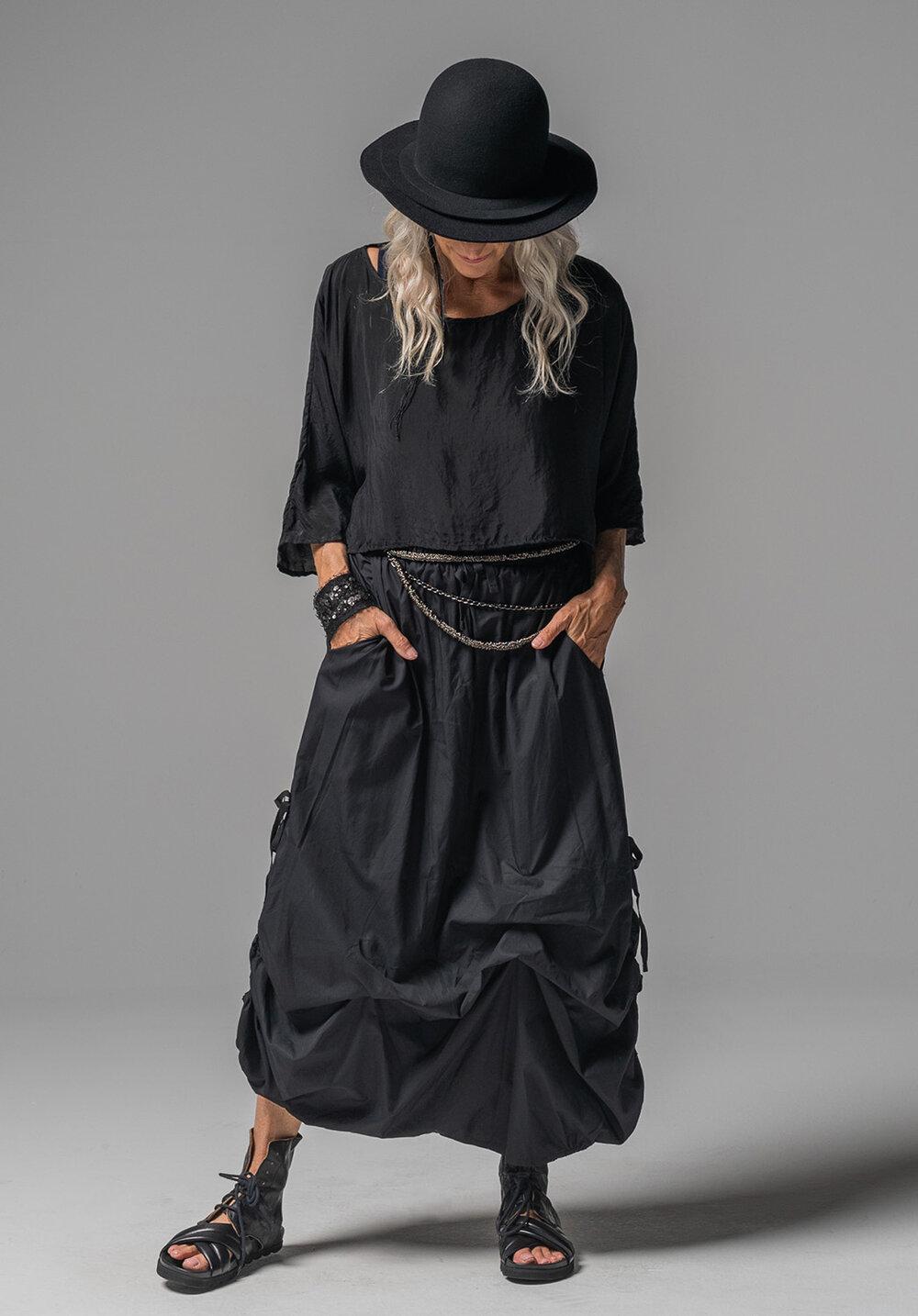 Archive top, Greta singlet + Marmalade skirt