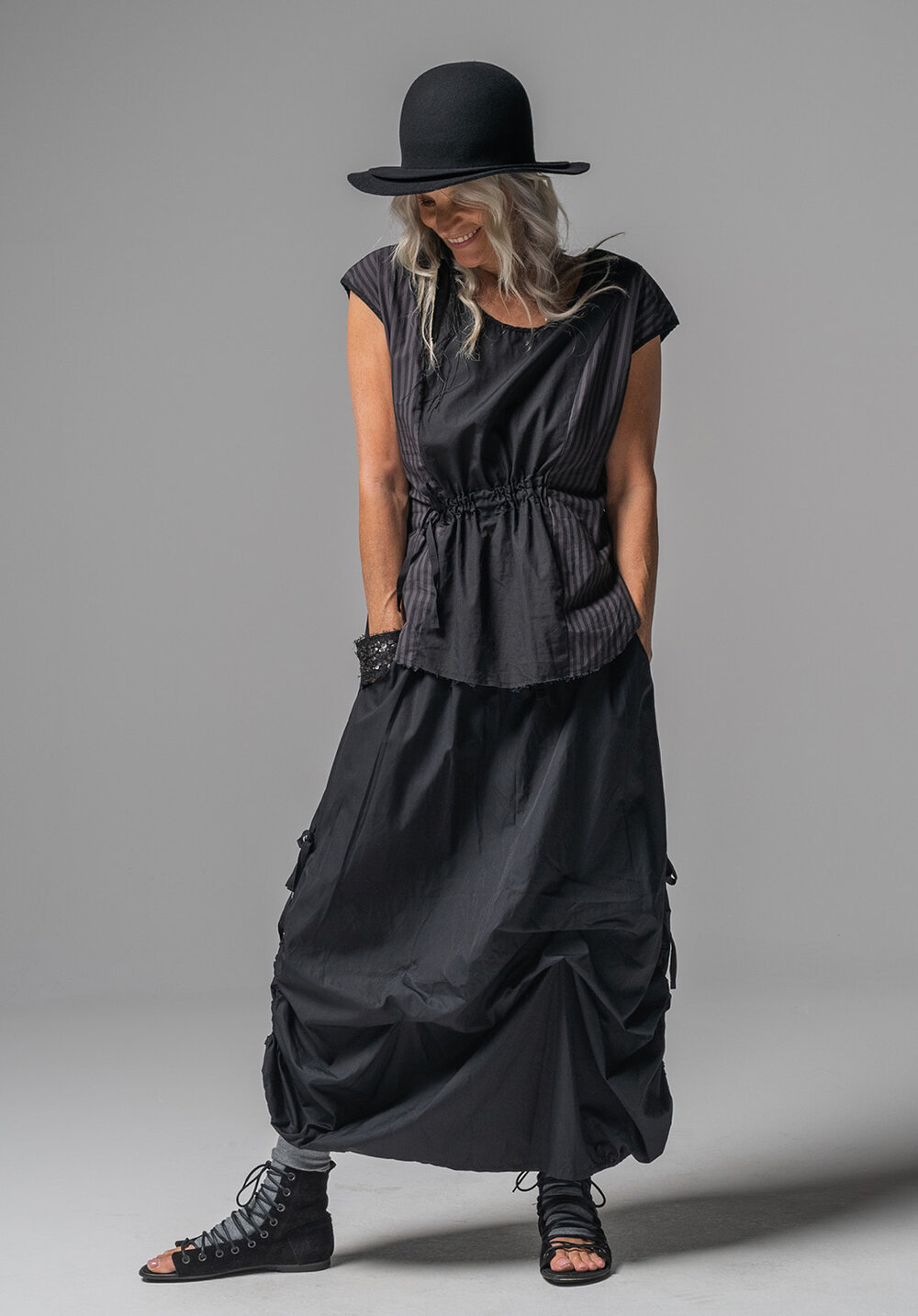 Ghost top + Marmalade skirt