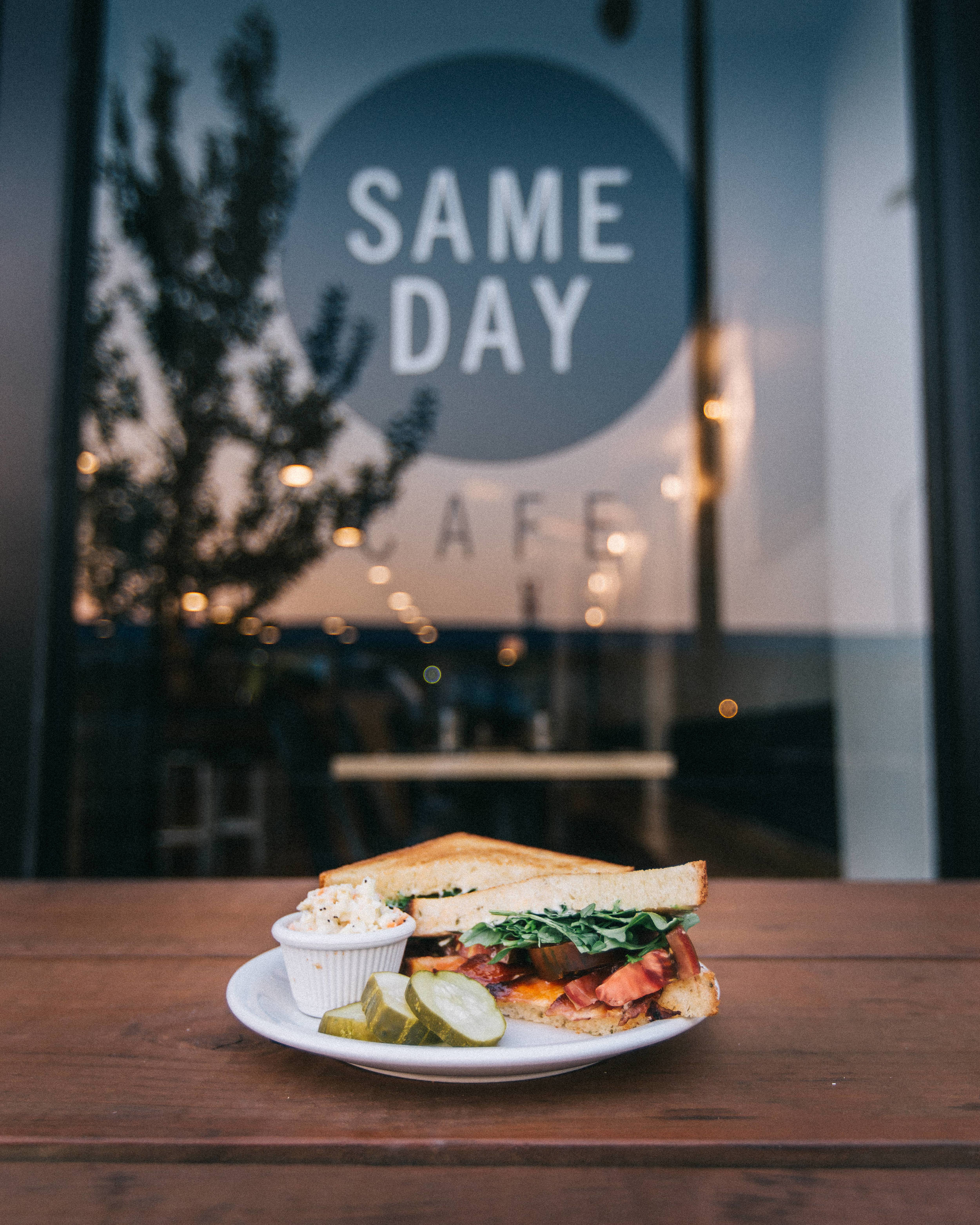 Same Day Cafe - Social Content