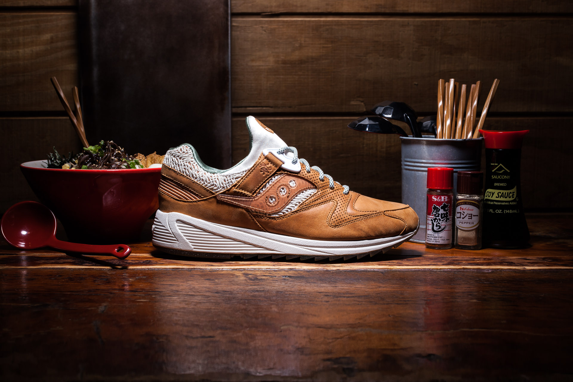 "Saucony - Grid 8500 ""Ramen"" Launch"