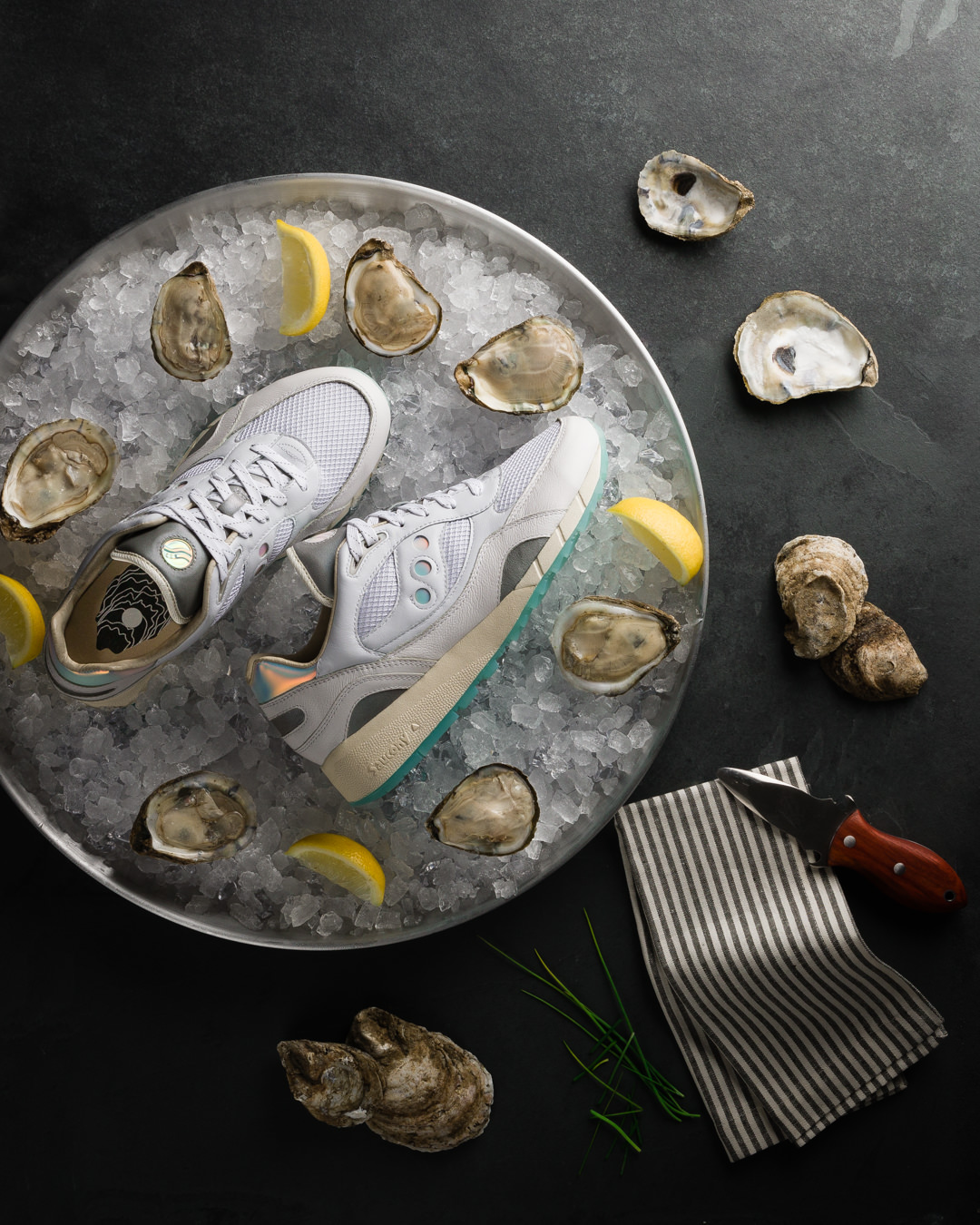 Saucony - Oyster Colorway Campaign