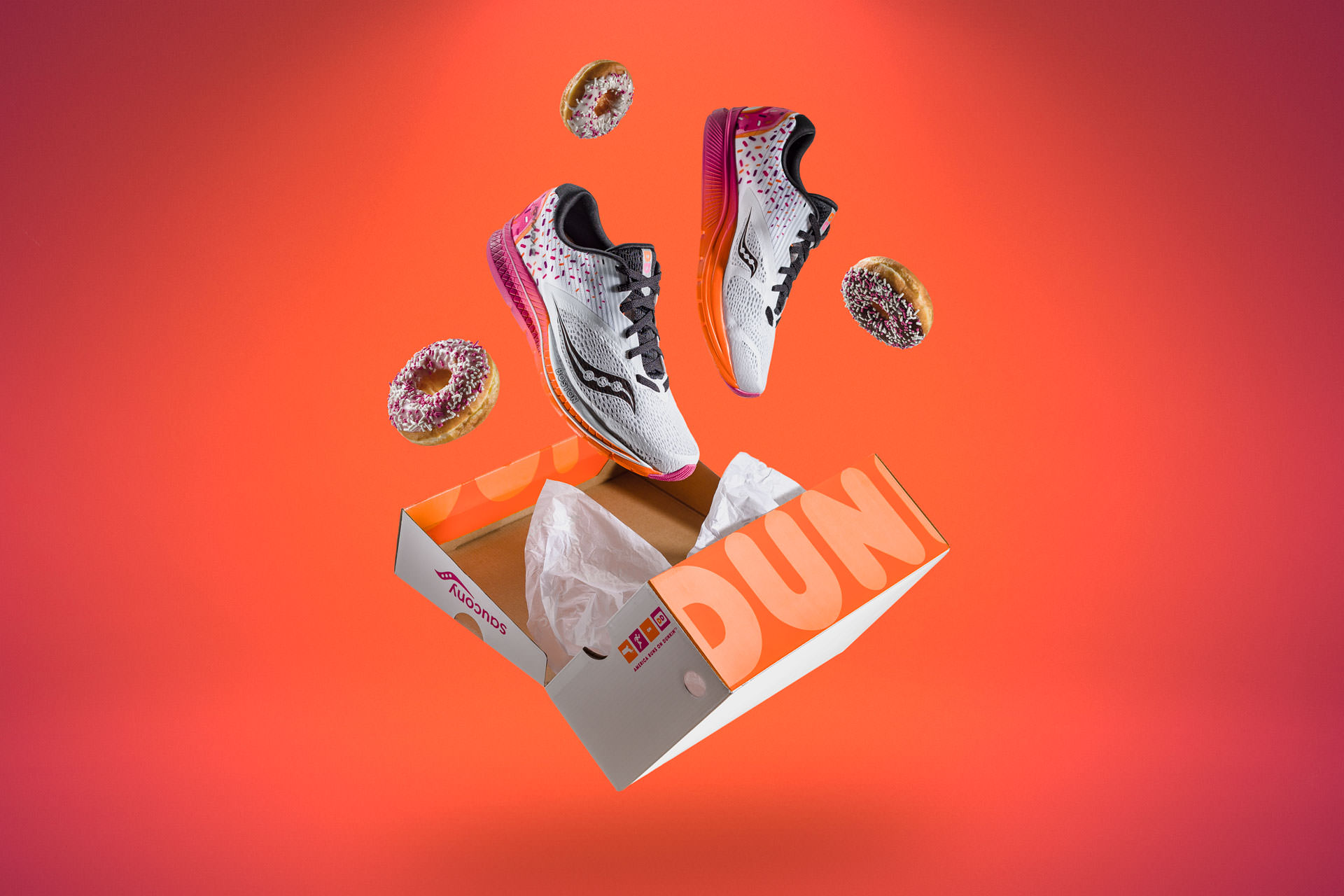 Saucony - Dunkin' Donuts Collab Launch