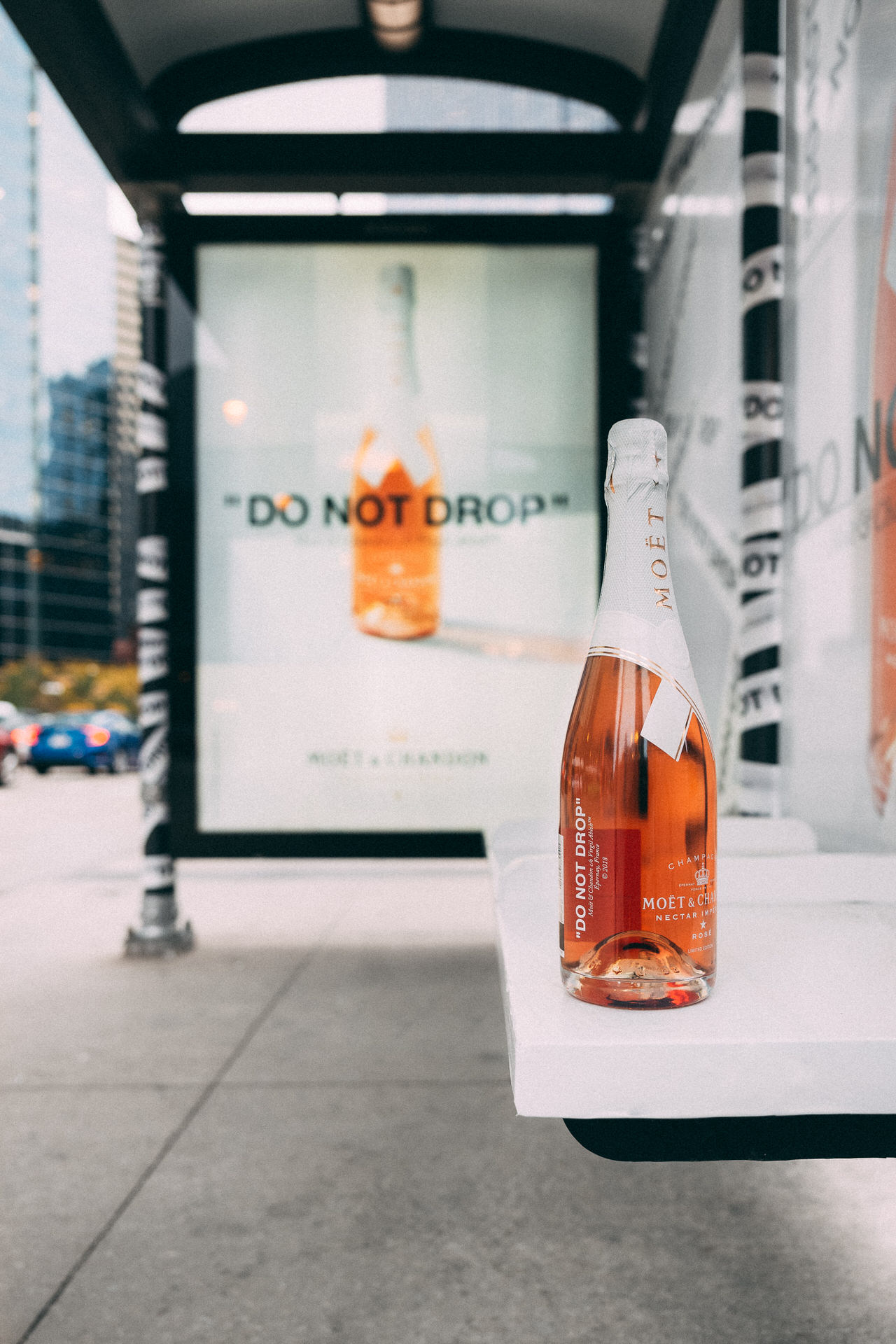 "Moët & Chandon - Vc/o Virgil Abloh ""DO NOT DROP"" Launch"