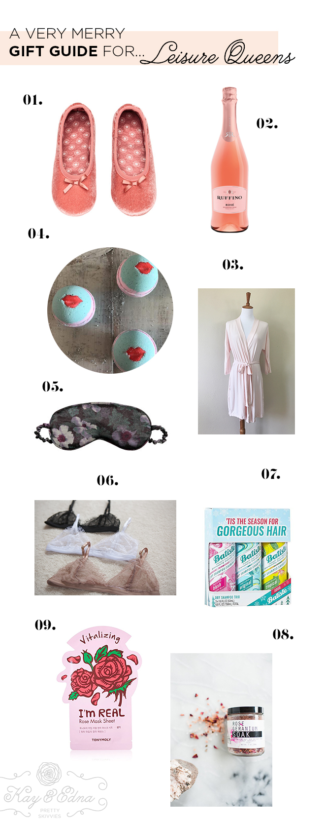 Kay & Edna Holiday Gift Guides - Leisure Queens