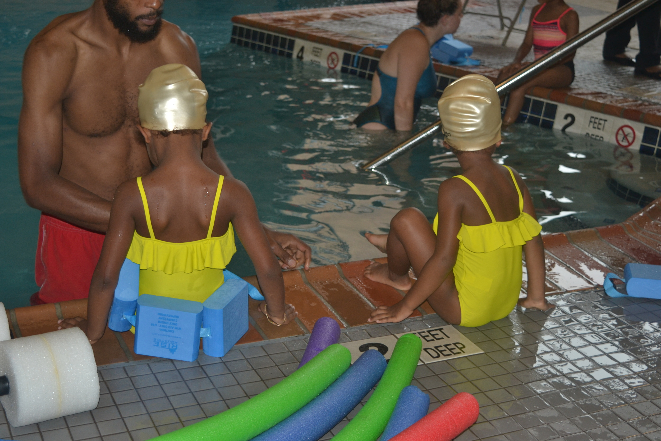 First Swimming Lesson