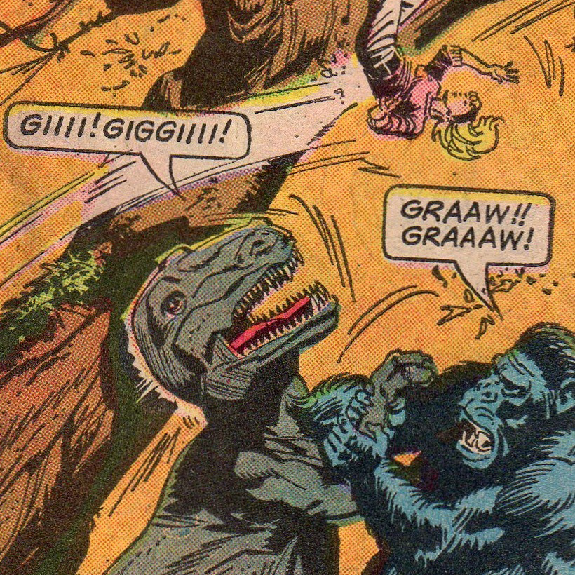 Kong pulp comic page reference.