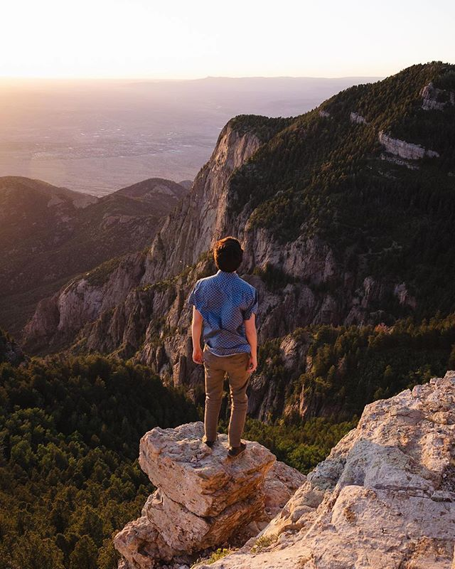 Facing fears with @xavisanchez_ ⛰ #dontfall ⛰ Don't ever be afraid of anything! Our minds are simply amazing at what they can accomplish and our determination can help us reach new heights! Are you ready to climb? #explorenm