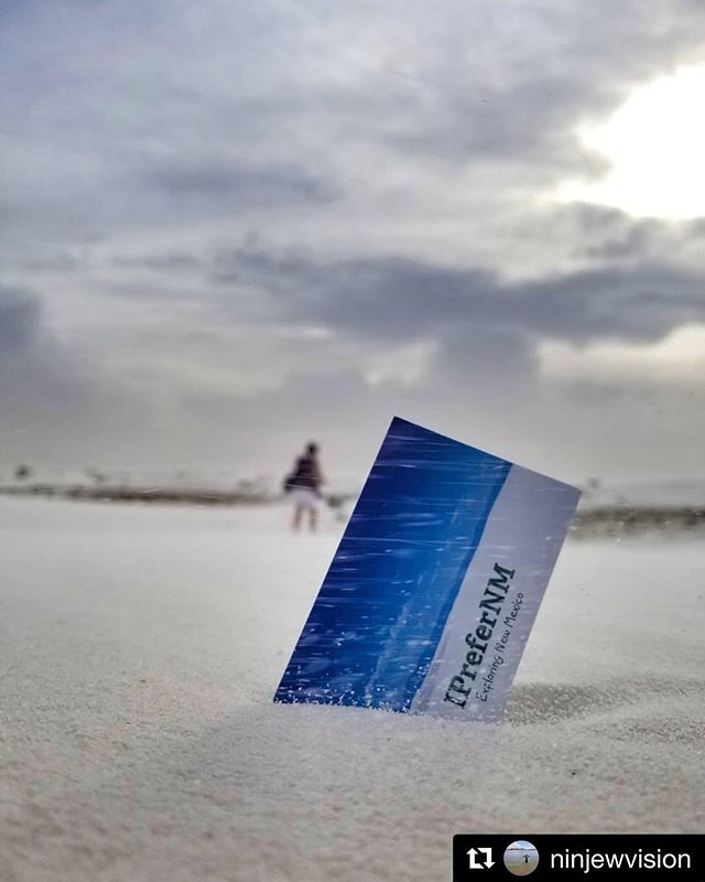 Thanks to our friend and photographer @ninjewvision for tagging us! ・・・ @iprefernm  For New Mexico events, artists, and more, go check out their page. You may even be featured! #iprefernm  #sky_central #storm #card #cloud  #beautiful #peace #vibrant #happy  #s8  #sky #pureSW  #best_skyshots #website #whitesandsnationalmonument #mountains  #skies #clouds  #igersnm #blue  #distance #peaceful #newmexicolandscape #featurenewmexico #purenm #stormclouds #business #sunset #divine_deserts #businesscards