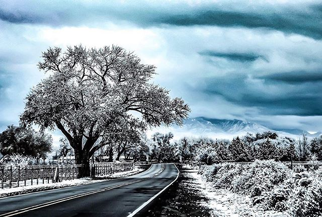 How's your winter going? ❄️ ❄️ ❄️ Tell us your favorite place to visit when it's cold🥶  #iprefernm #winterwonderland 📷 @villageofcorrales