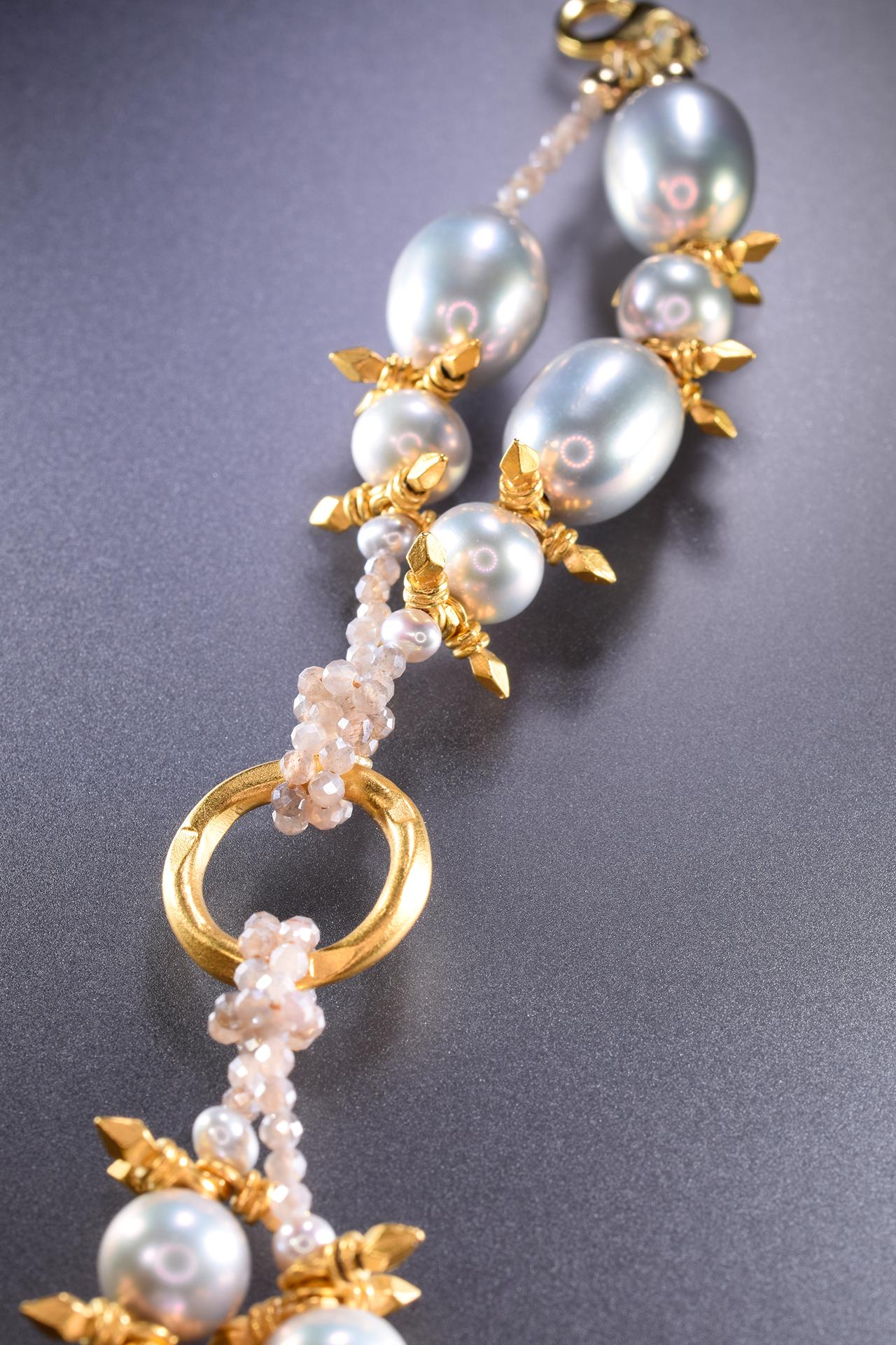 Brigid Pearl Bracelet