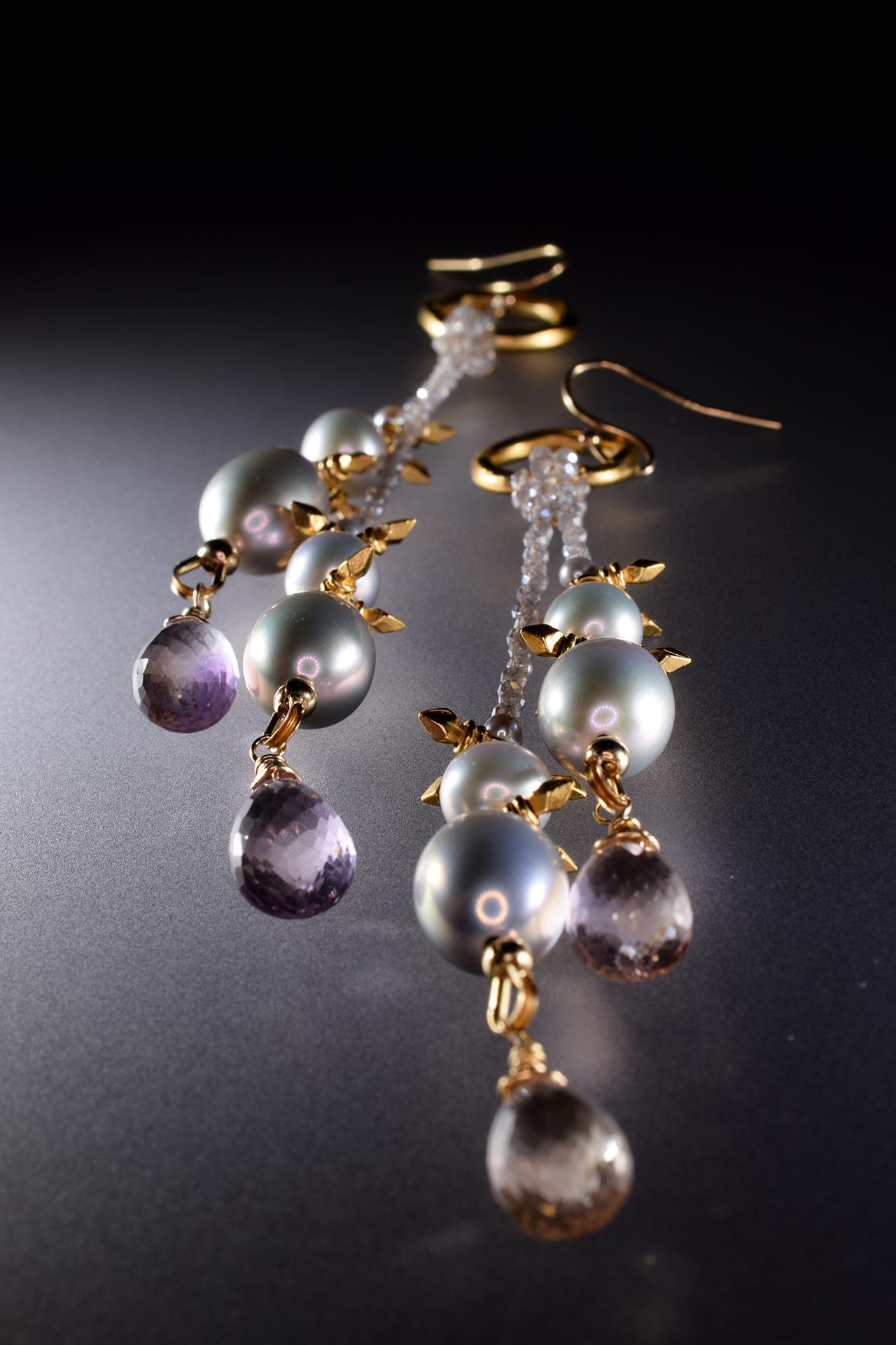 Messalina Pearl Earring