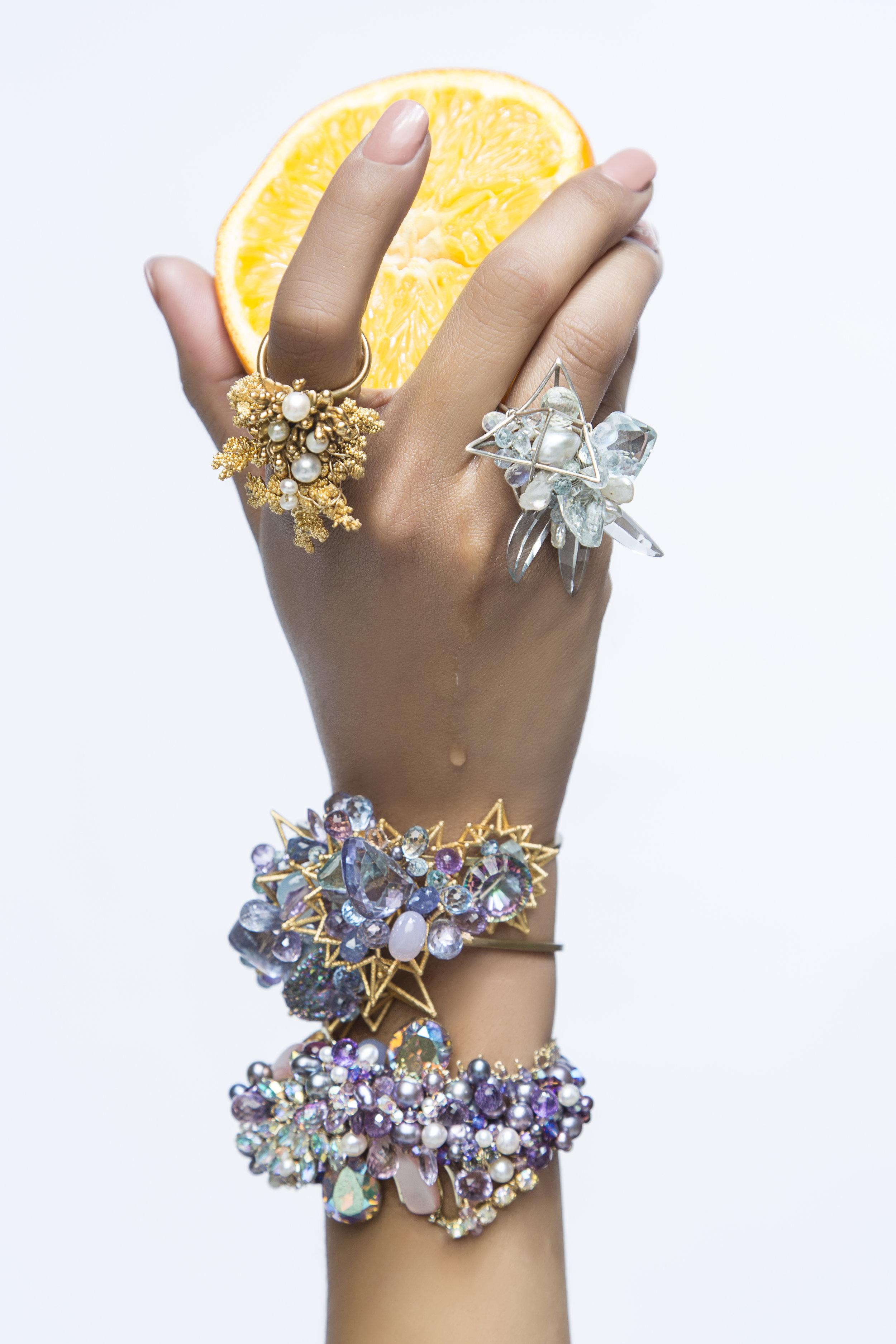 statement gemstone jewelry