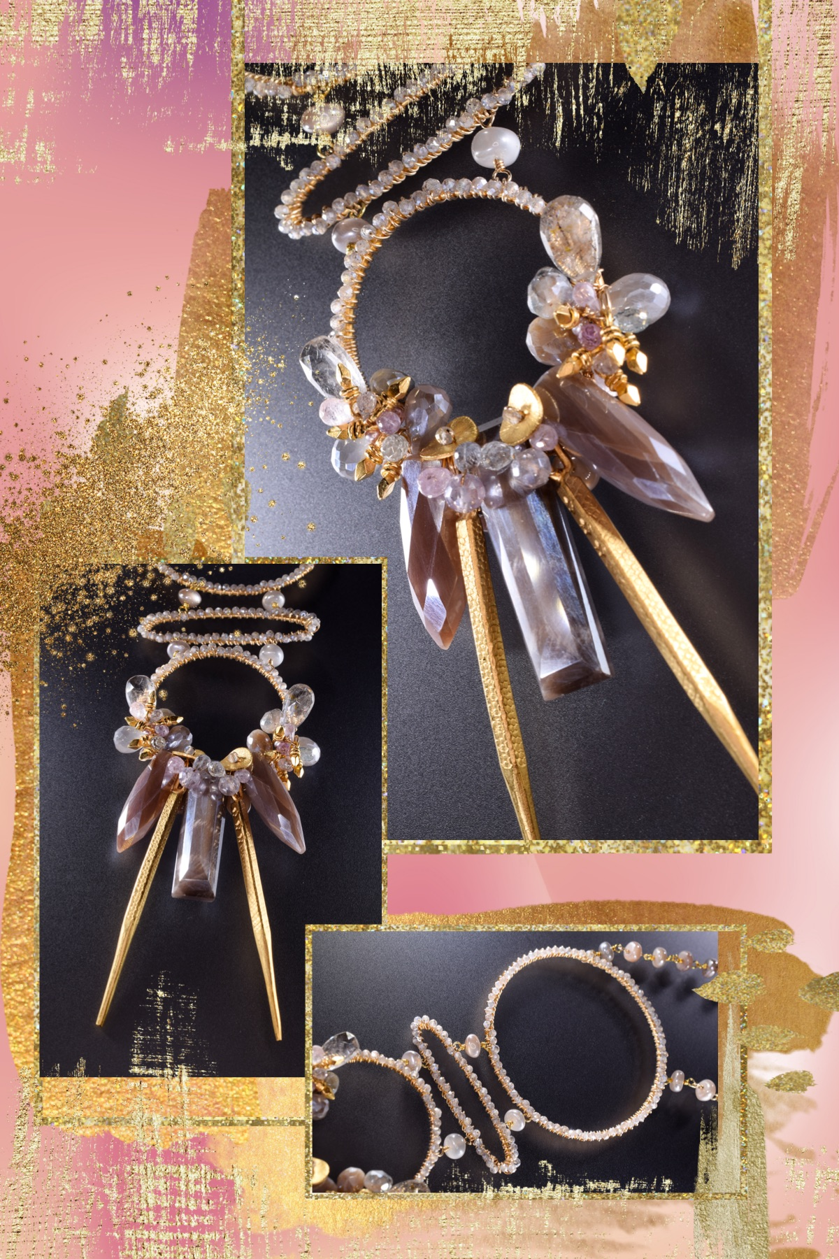 Femme Fatale Jewelry Collection lookbook