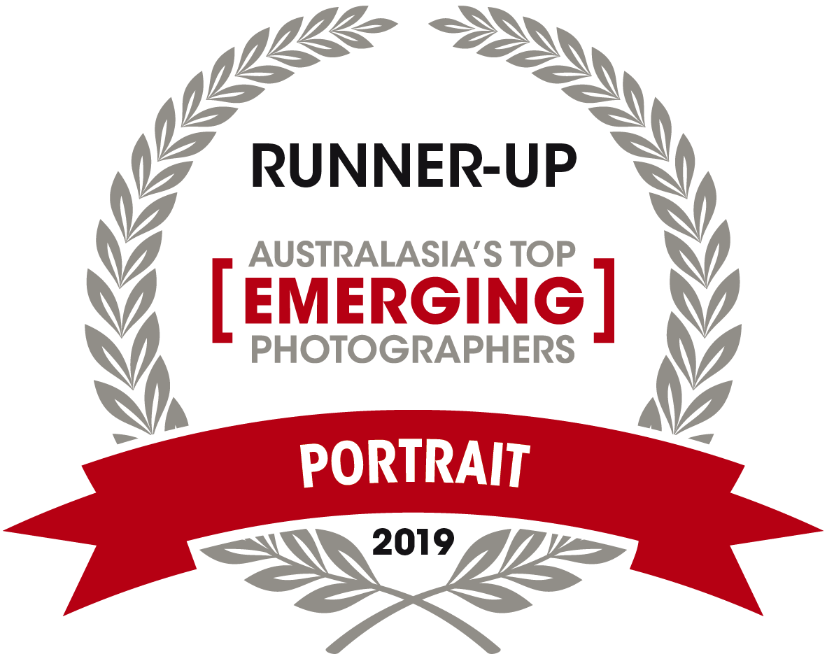 Runner Up Top Emerging Portrait Photographer of the Year in Capture Magazine 2019