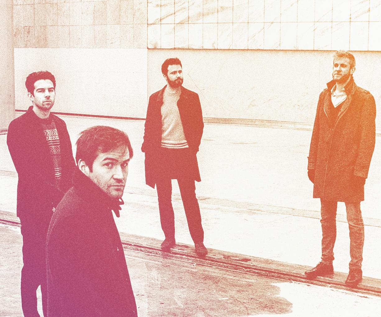 De gauche à droite : Florent Nisse, Gautier Garrigue, David Enhco, Roberto Negro.