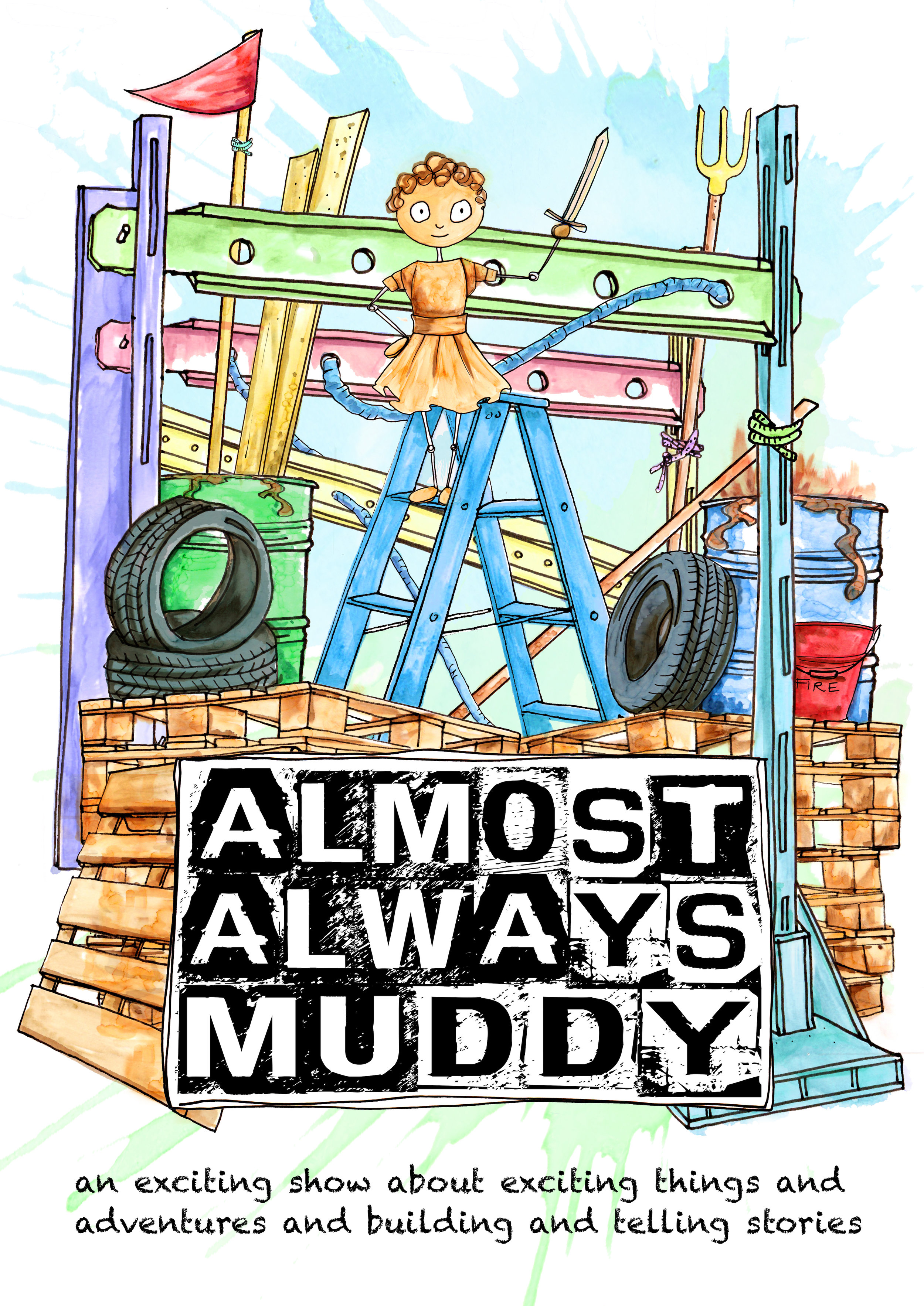 Almost Always Muddy Poster
