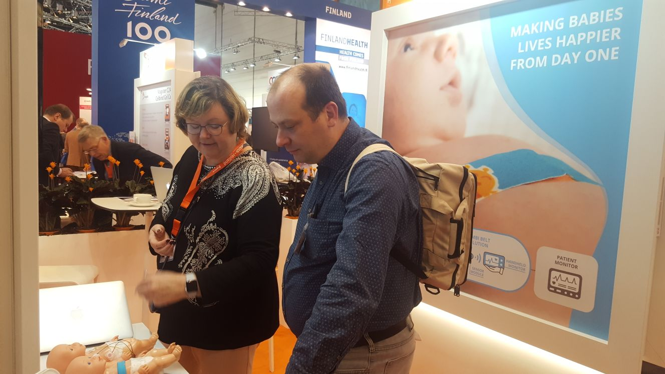 The Bambi Medical booth was full of interested people all the time.