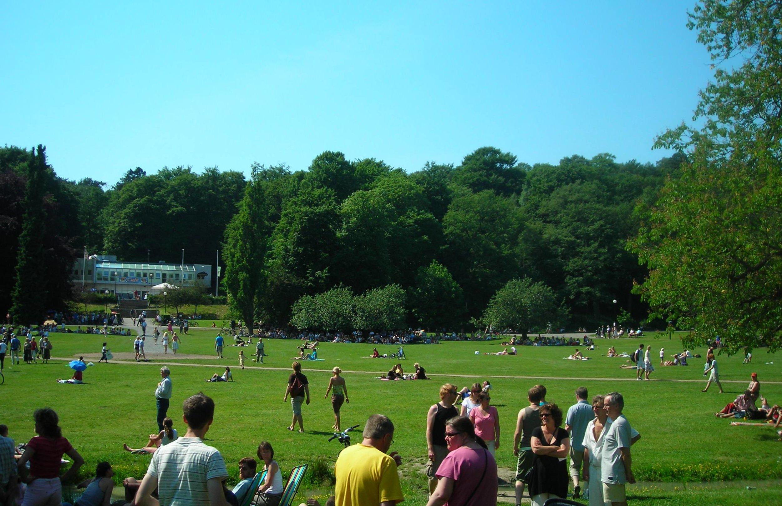 Slottskogen park in Gothenburg