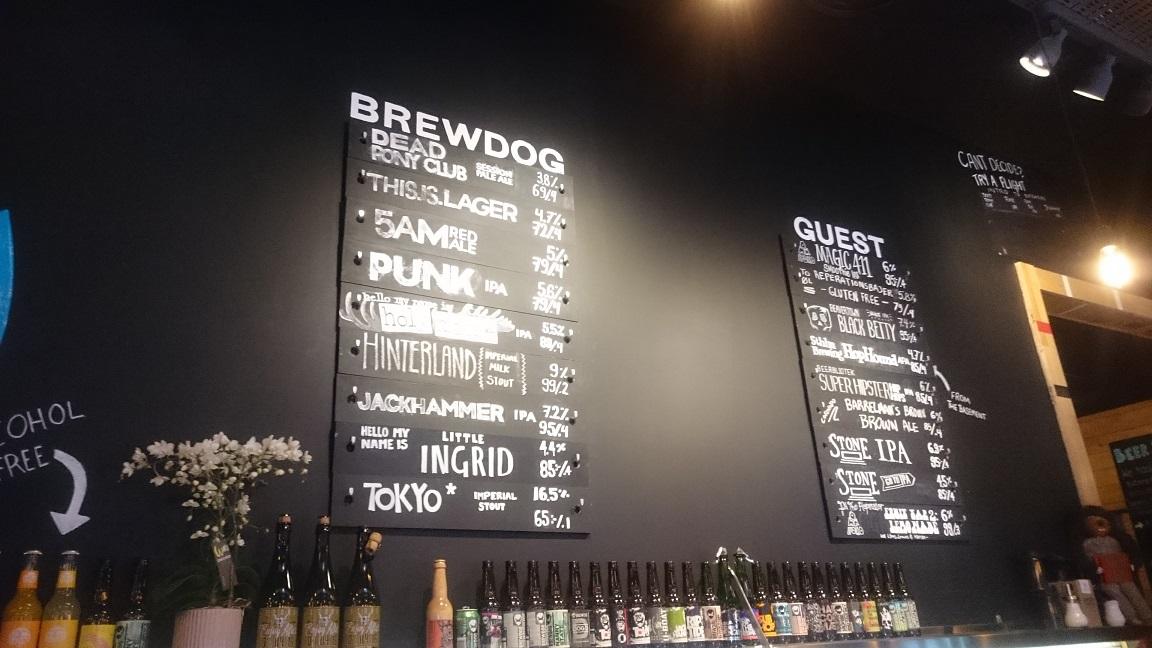 Guest Beers at Brewdog