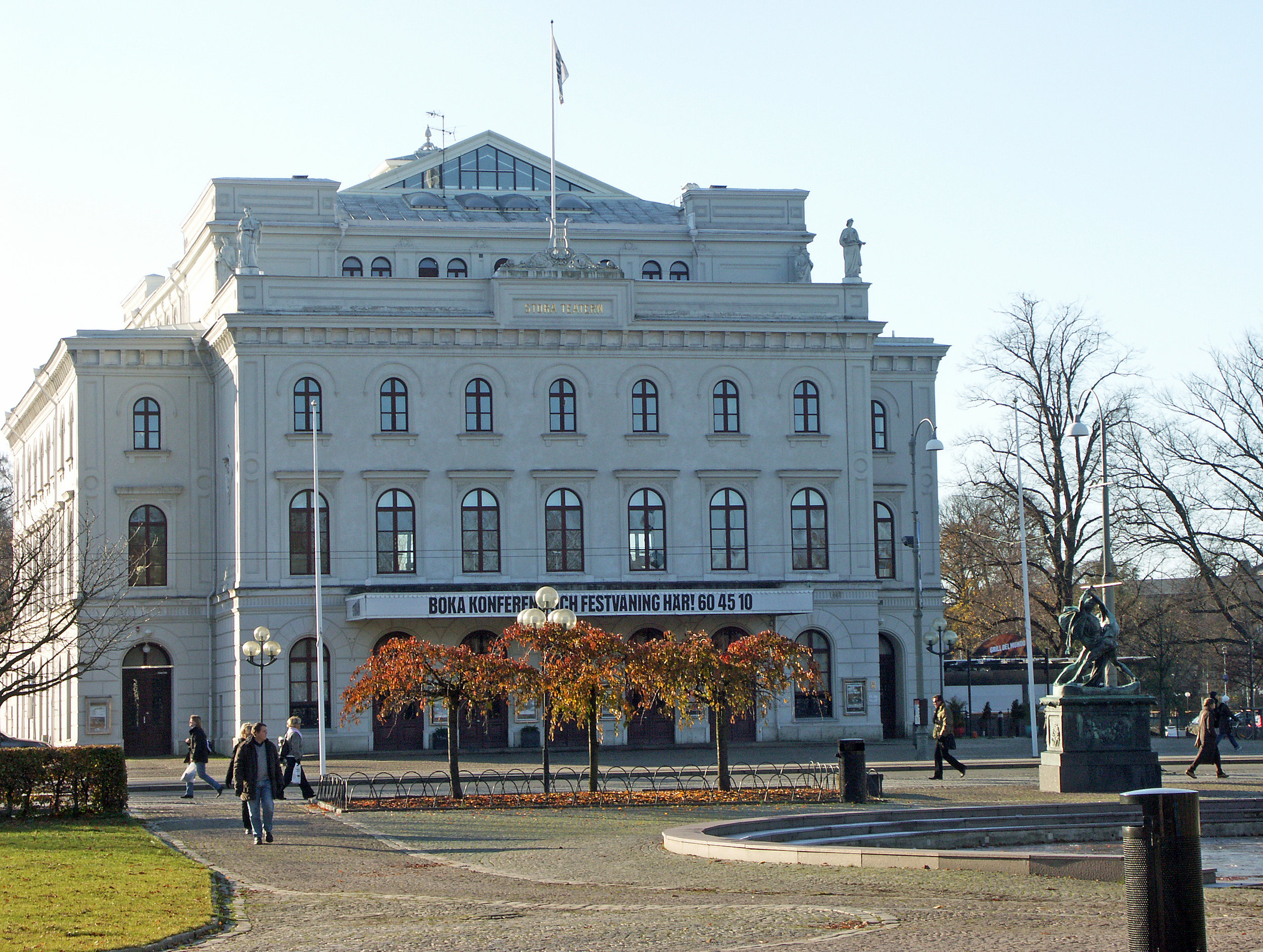 Stora teatern in Gothenburg