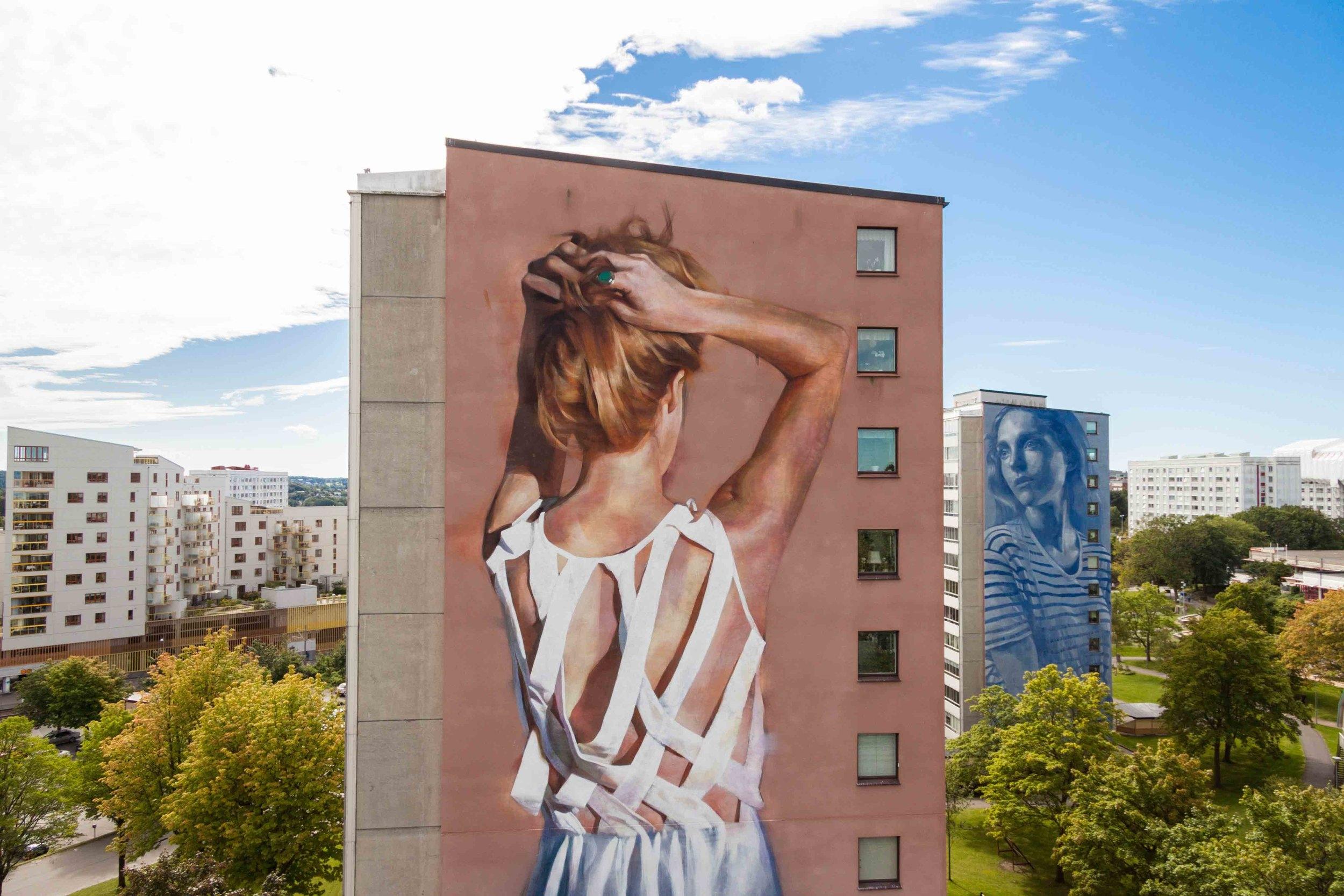 Image credit:  Artscape . Featured work by Australian artist, Rone.