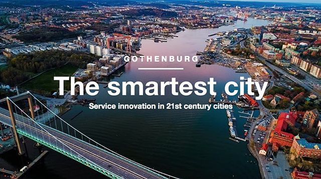 Can GBG become the smartest city in the world?  If you are interested in collaborating towards developing Gothenburg as a world leading smart city for service innovation - DM us and stay in the loop about exciting upcoming GBG collaborations 🙌 #innovation #smartcity #gothenburg #göteborg #gbgsmartcity #smartcities image cred: 📷@mohammed_mohawesh