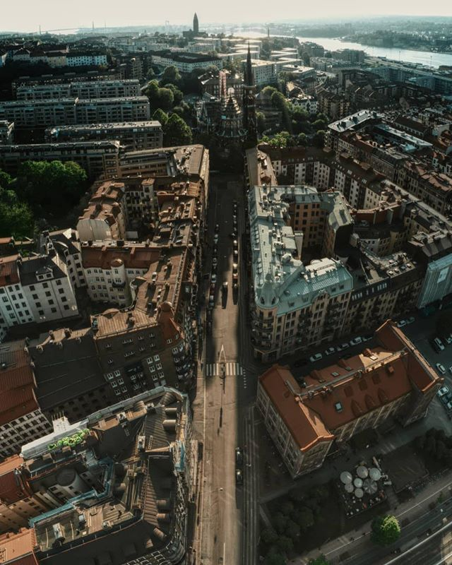 Linné from above😍📷 by @christoffer_cederquist #linne #gothenburg #göteborg #loves_sweden #thisisgburg #thisisgbg #aerial #streetview #visitsweden #visitgothenburg #sverige