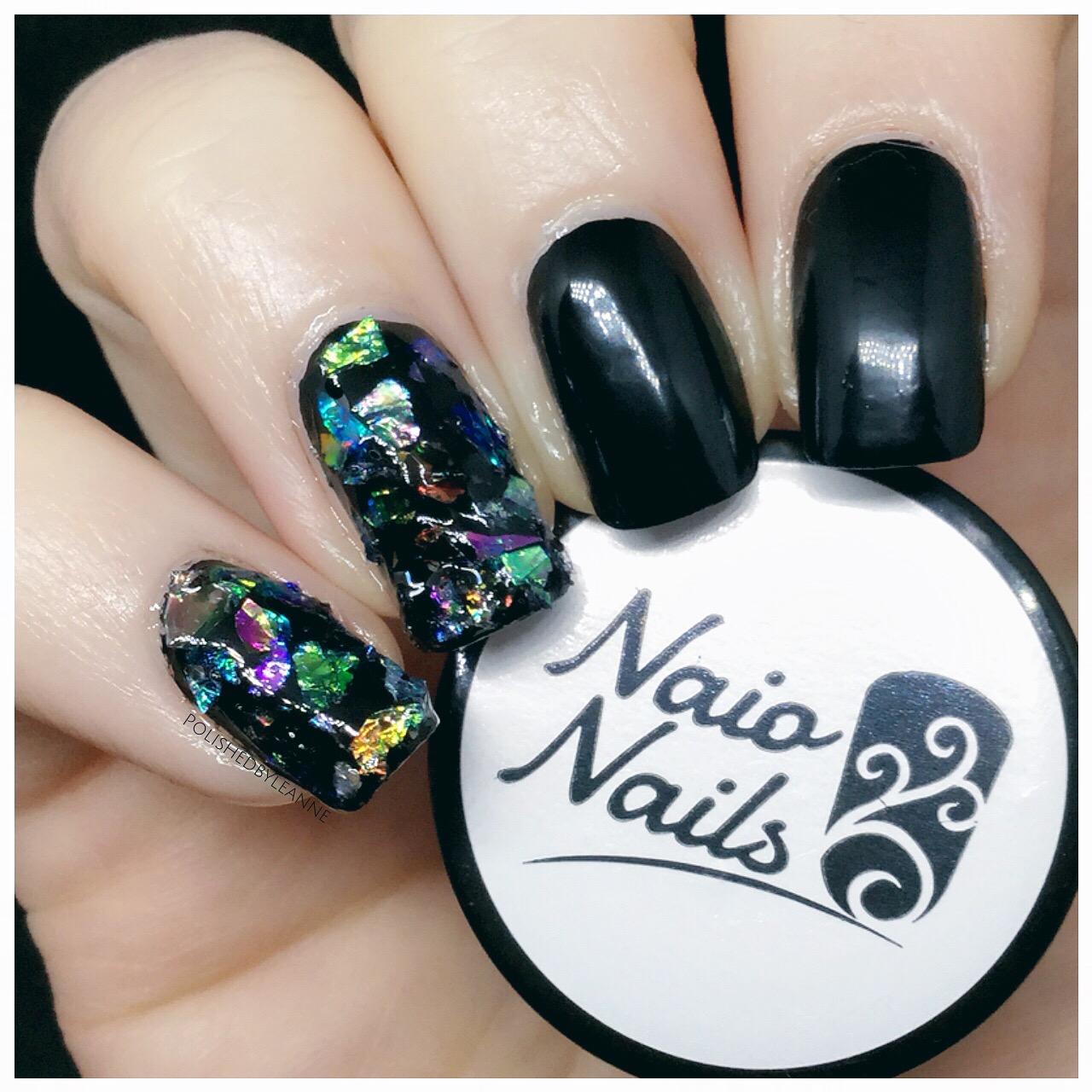 Naio nails - cracked ice nails