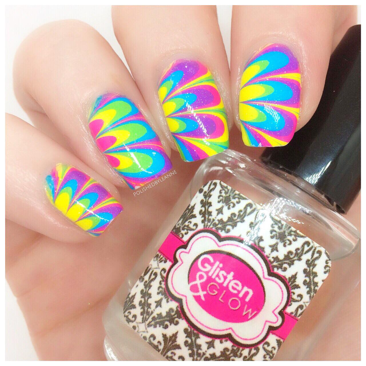 Whats up Nails Watermarble