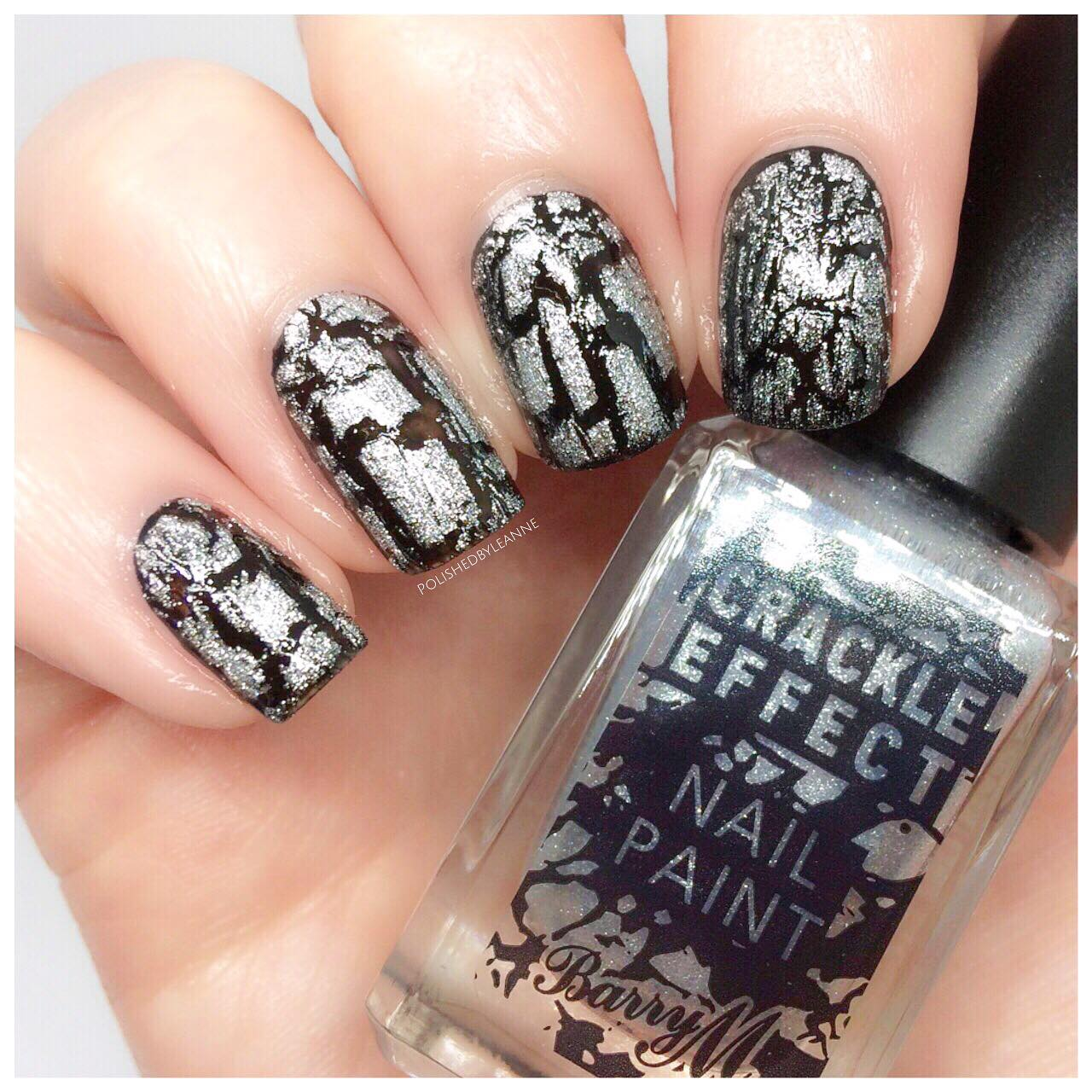 Barry M crackle polish