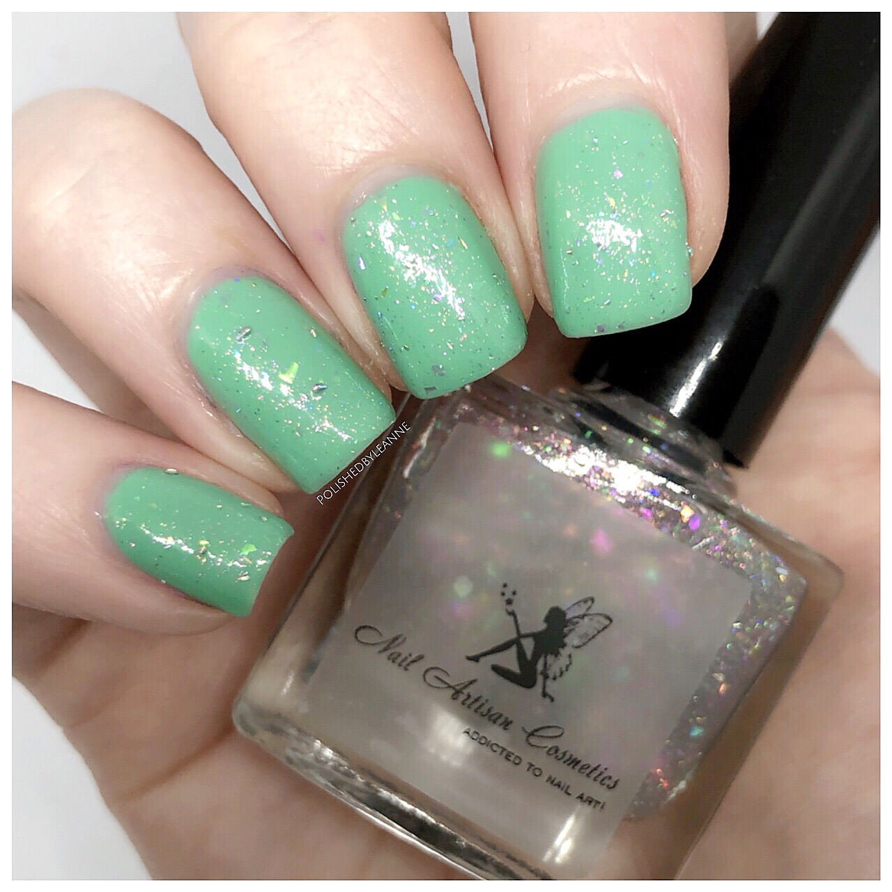 Shown over Jade - Glossy