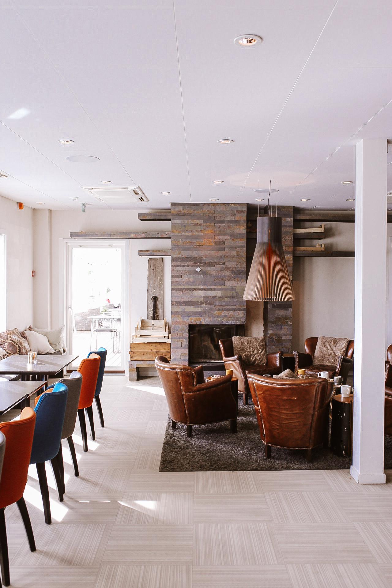 Ulvöhotell lounge
