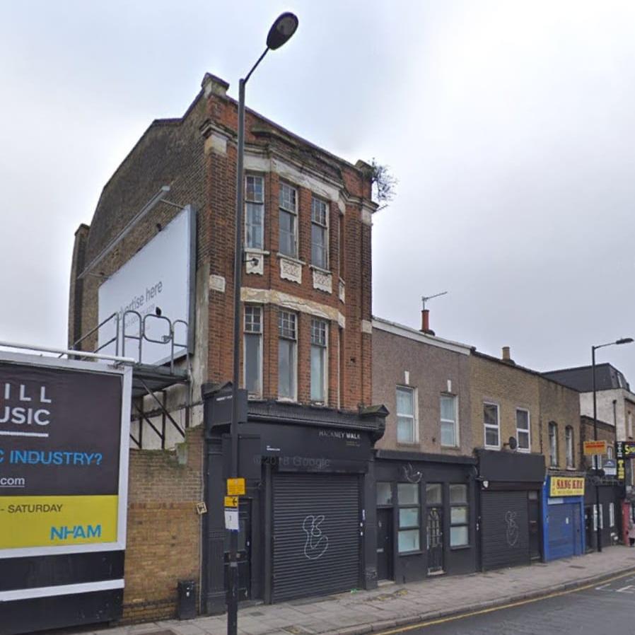 163 Morning Lane, London E9 6LH  The nearest station is Hackney Central or Homerton