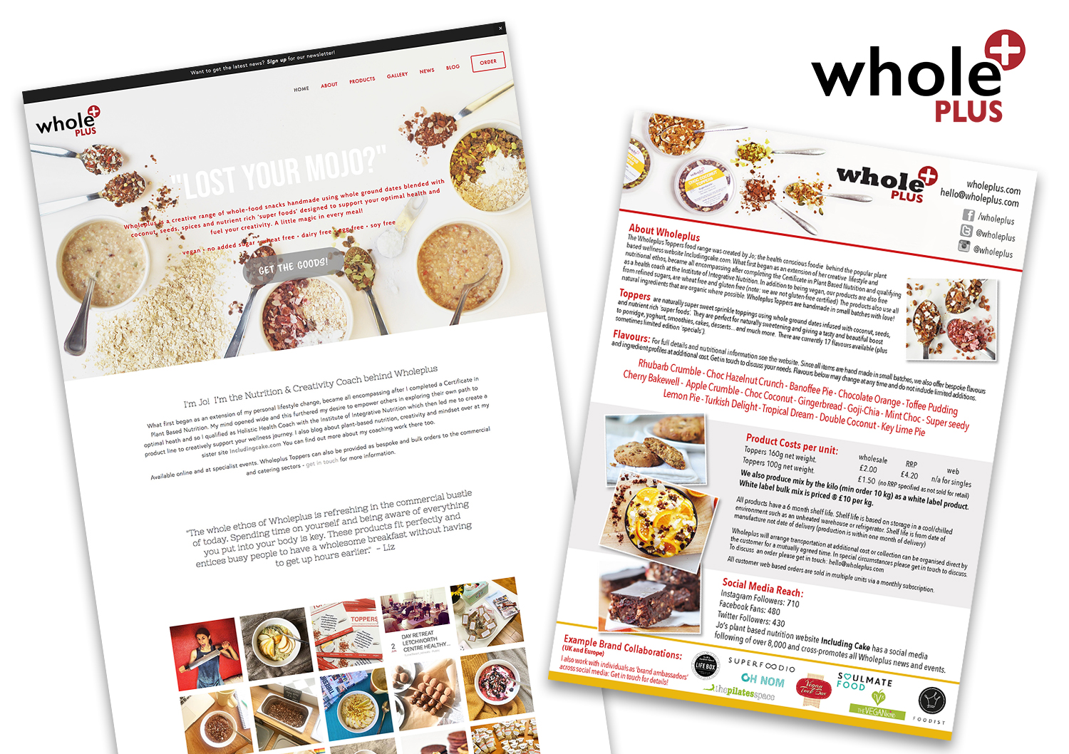Wholeplus Website