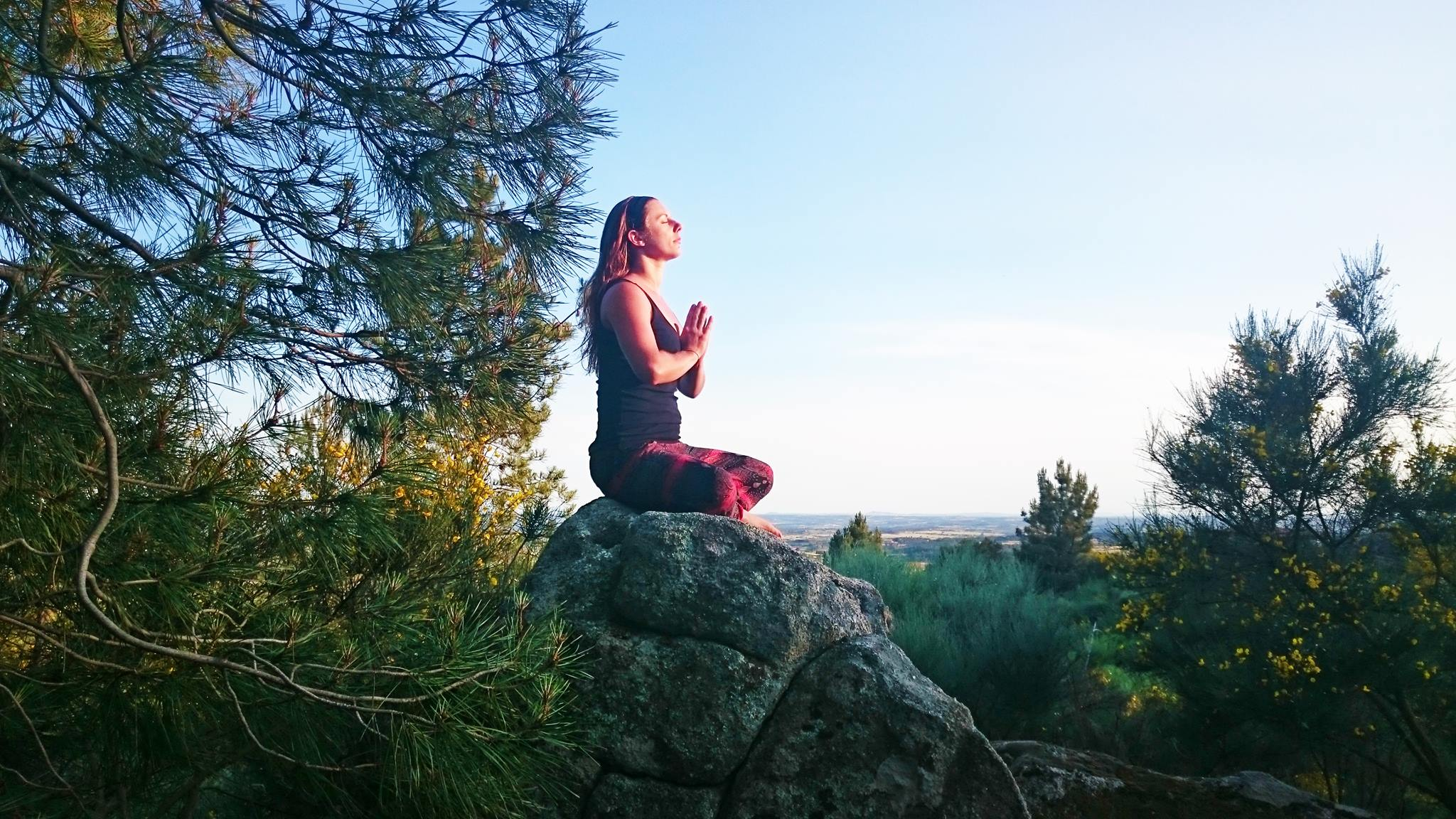 (Photo taken on retreat with the Merkaba community, Portugal (the closest to kundalini I could find!)