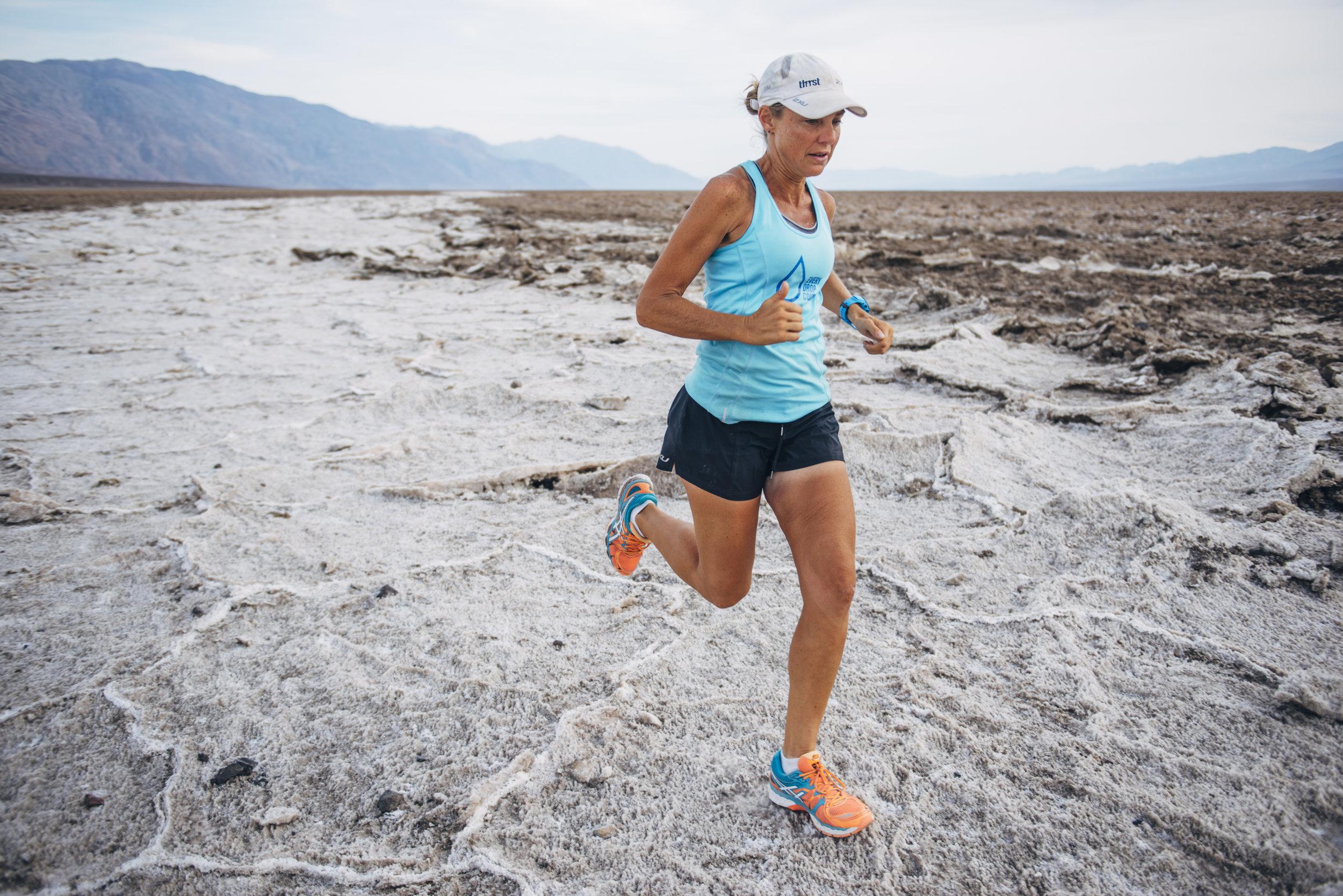 Mina Guli Running in Chile