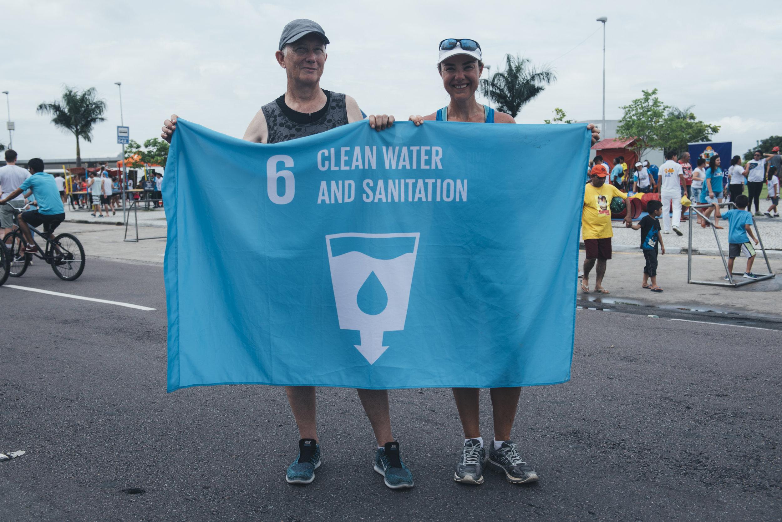 Triathlete in Manaus